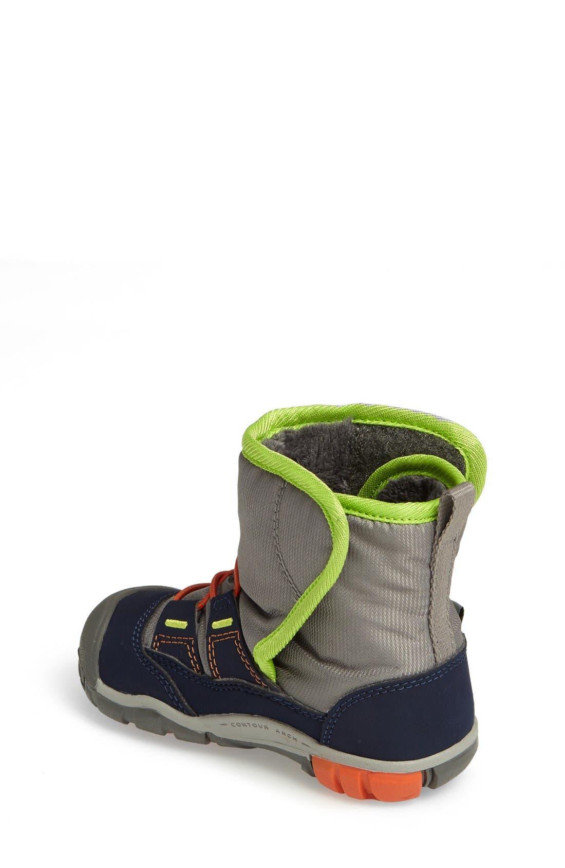Alternate Image 2  - Keen Peek-A-Boot Fleece Lined Boot (Baby & Walker)