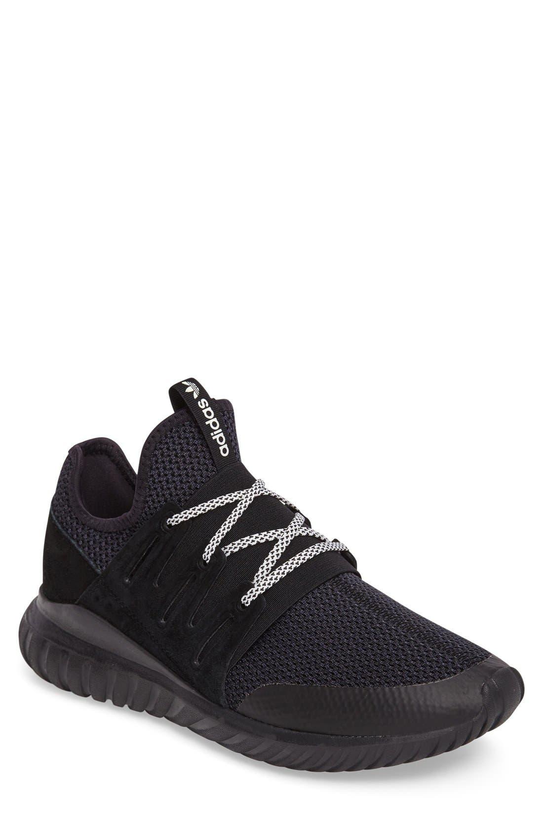 Alternate Image 1 Selected - adidas 'Tubular Radial' Sneaker (Men)