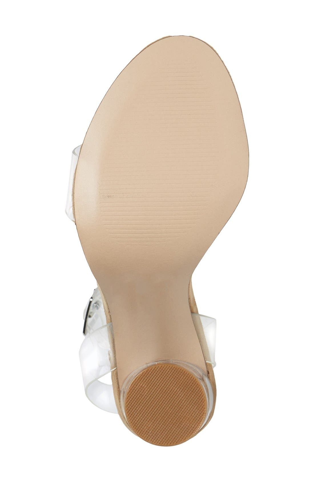 Alternate Image 4  - Steve Madden Clearer Column Heel Sandal (Women)