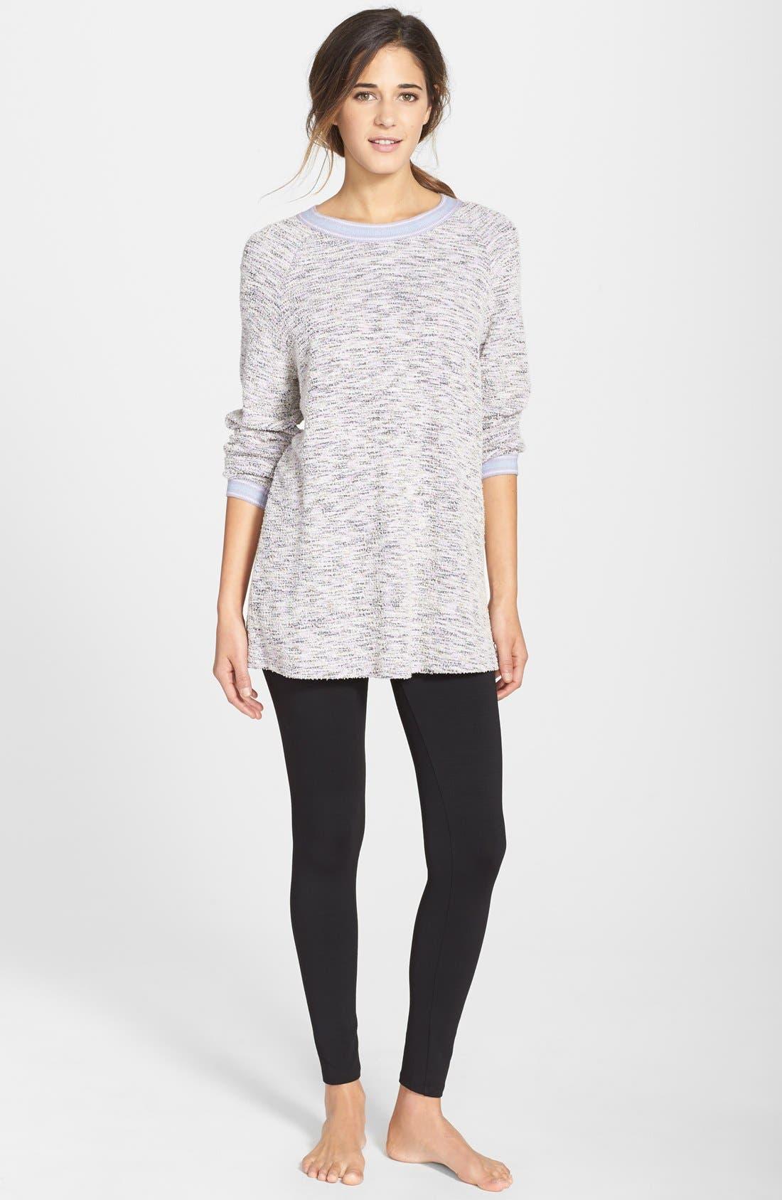 Alternate Image 3  - Only Hearts Oversize Bouclé Knit Sweatshirt