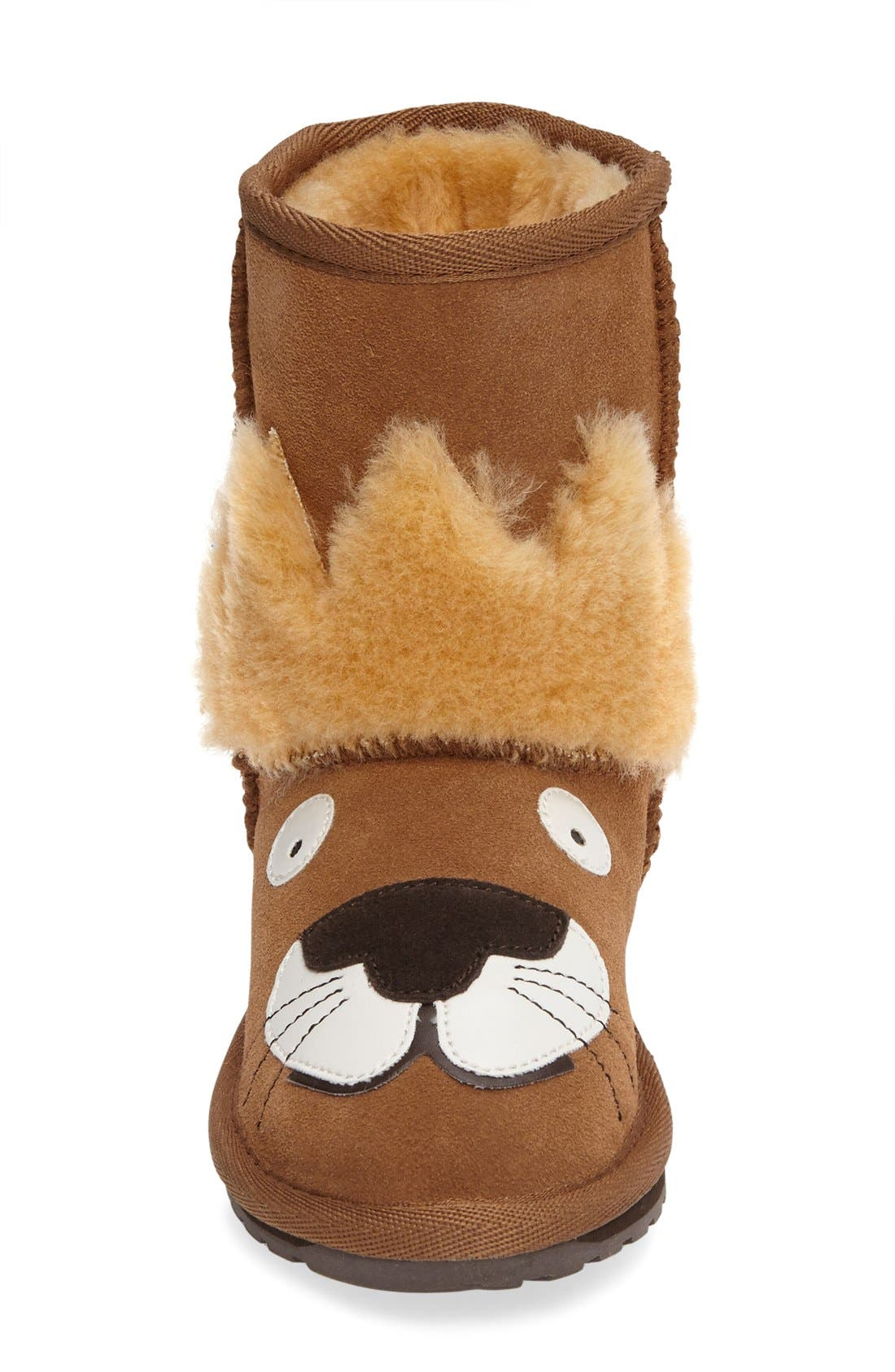 Alternate Image 3  - EMU Australia Little Creatures - Leo Lion Boot (Toddler, Little Kid & Big Kid)