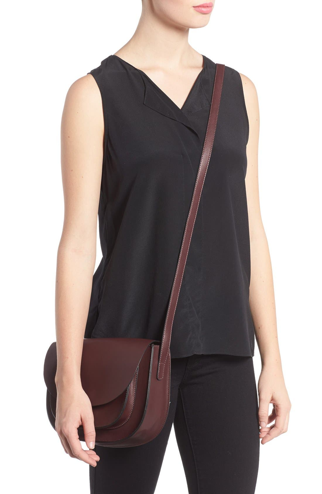 Alternate Image 2  - Sole Society Claire Faux Leather Crossbody Bag