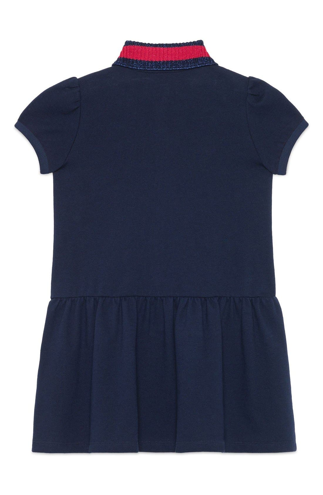 Alternate Image 2  - Gucci Embroidered Dress (Little Girls & Big Girls)