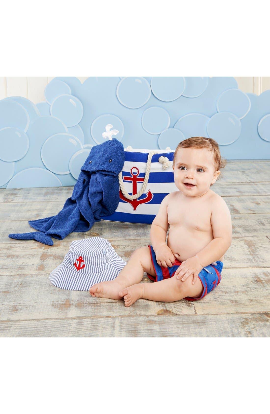 Alternate Image 2  - Baby Aspen Nautical 4-Piece Gift Set (Baby)