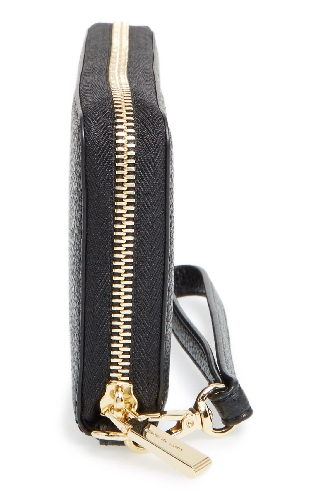 Alternate Image 5  - MICHAEL Michael Kors Mercer Large Leather Tech Wristlet