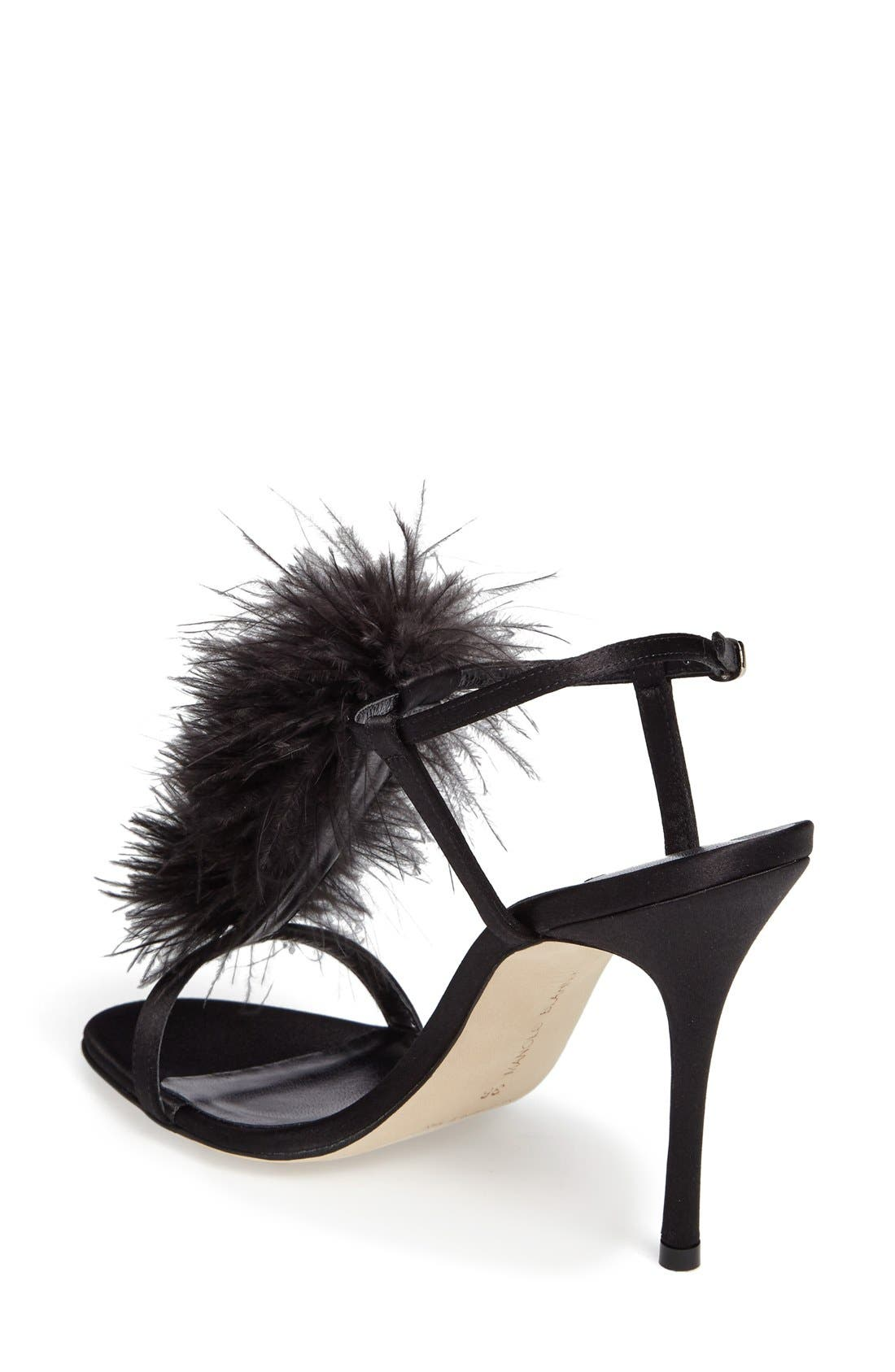 Alternate Image 2  - Manolo Blahnik Eila T-Strap Sandal (Women)