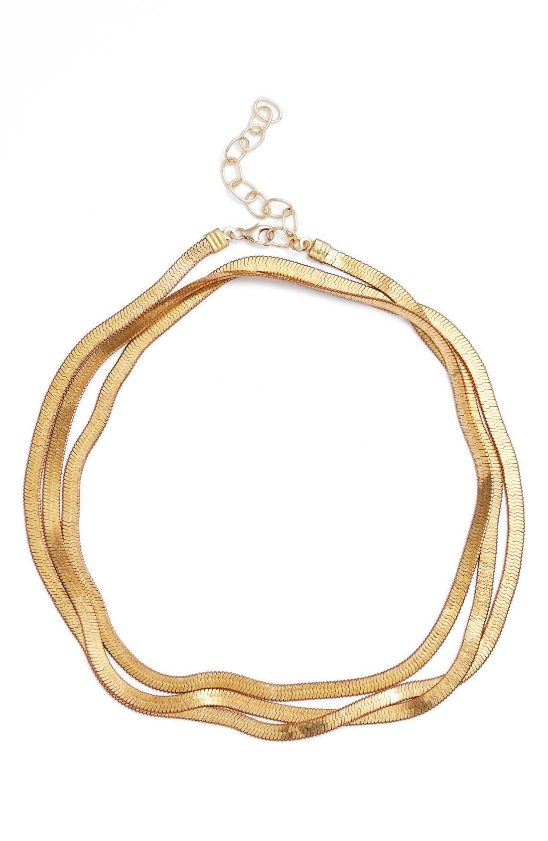 Alternate Image 2  - FRASIER STERLING Valley Chain Wrap Choker
