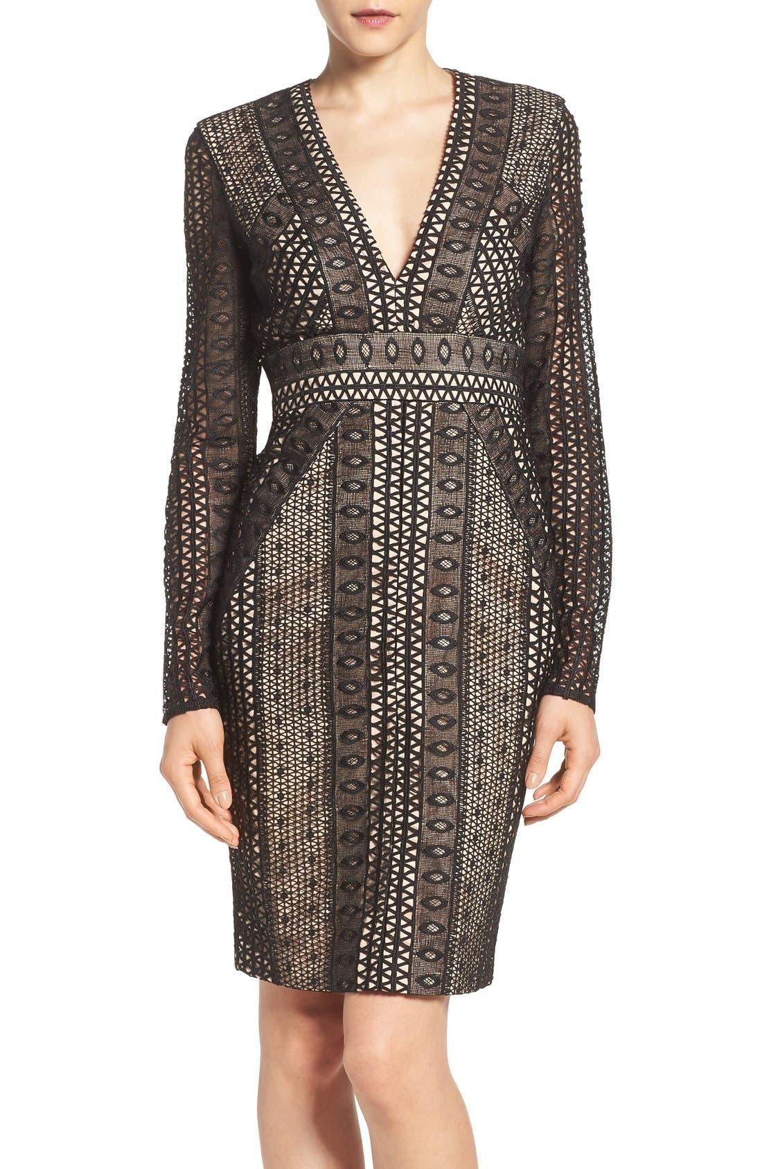 Alternate Image 1 Selected - Bardot Allegra Lace Sheath Dress