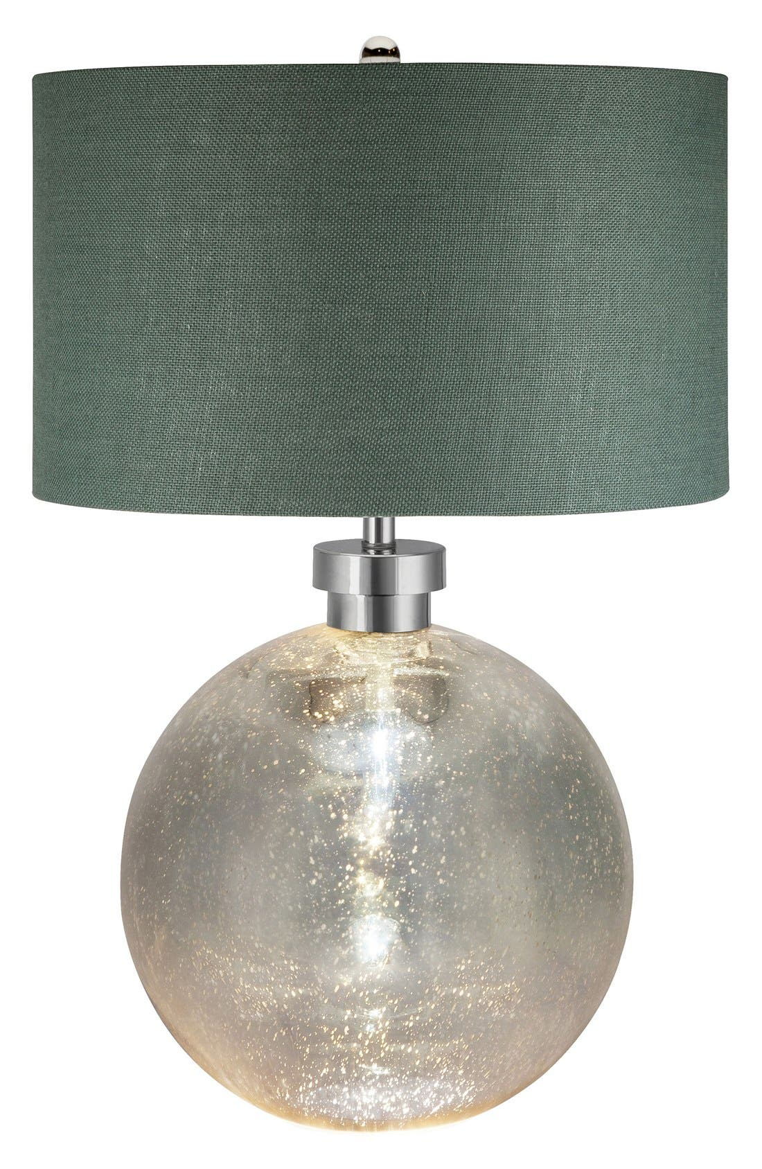JAlexander Luna Mercury Glass Table Lamp,                             Main thumbnail 1, color,                             Silver