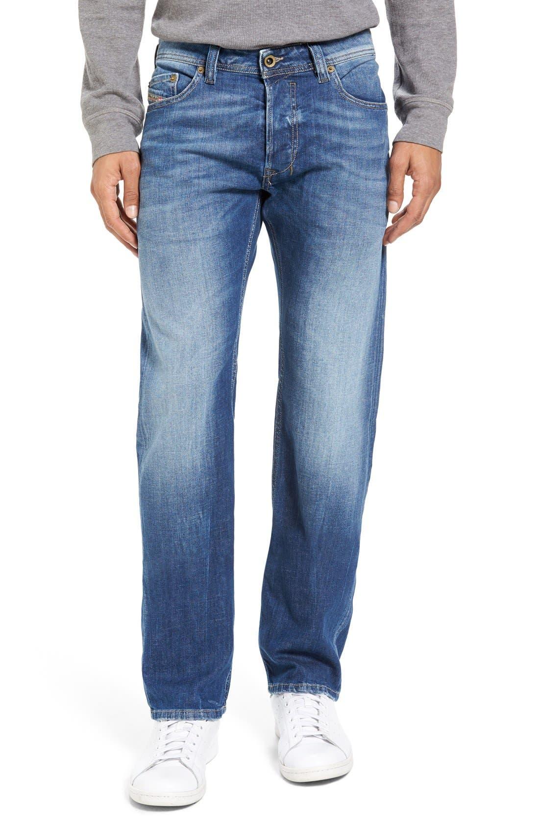 DIESEL<SUP>®</SUP> Safado Slim Fit Jeans