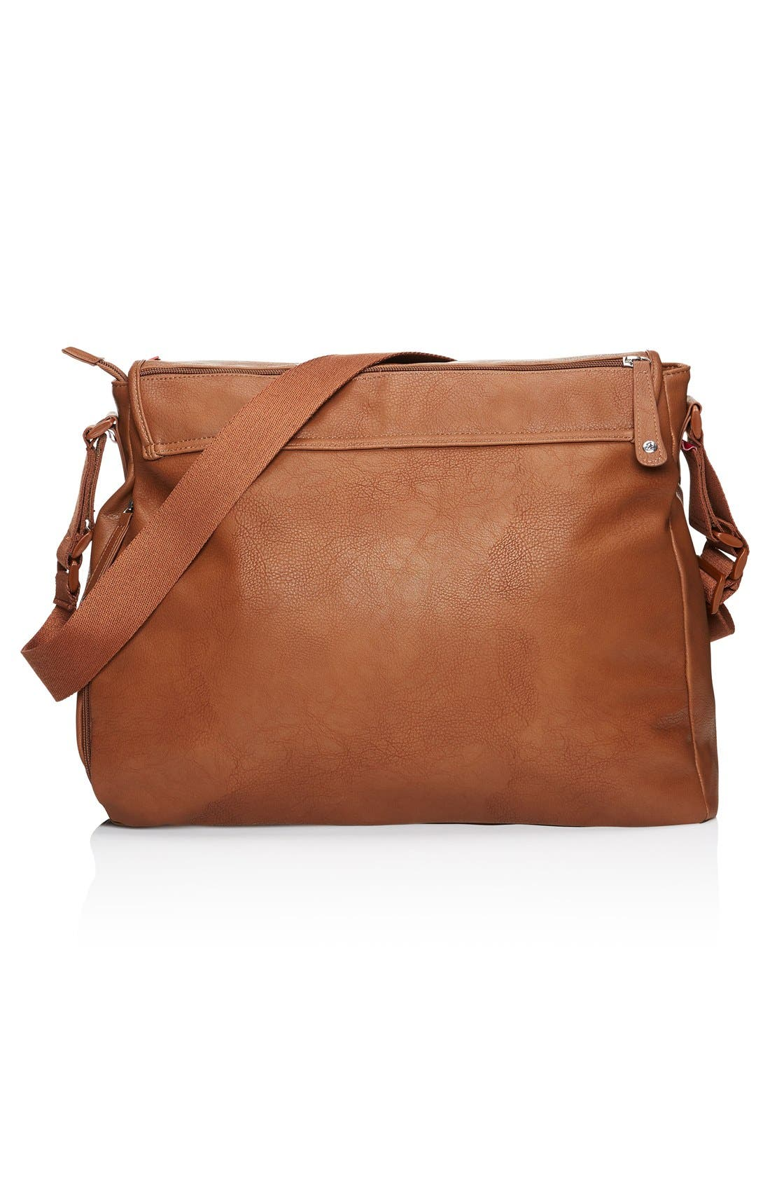 Alternate Image 8  - Babymel Ally Faux Leather Diaper Bag