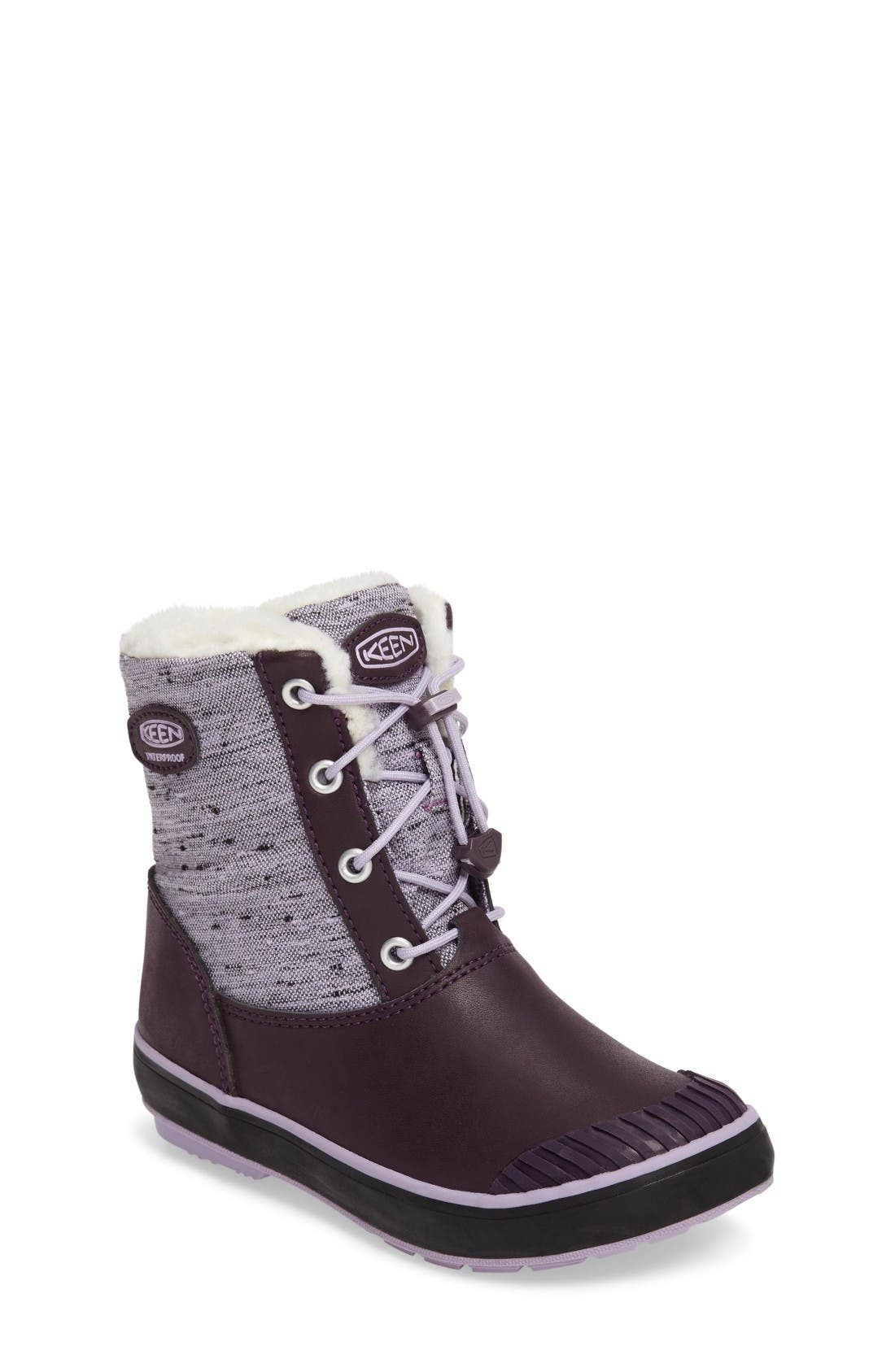 KEEN Elsa Waterproof Faux Fur Lined Snow Boot
