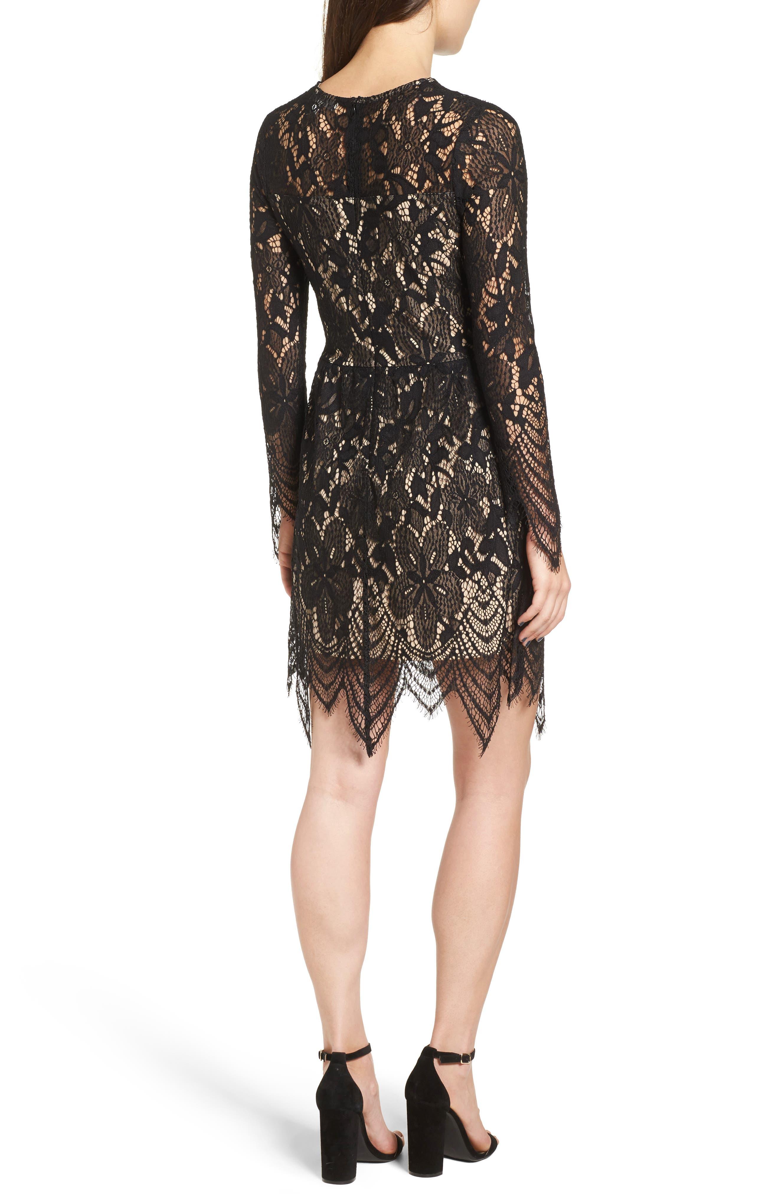 Alternate Image 2  - Love, Fire Lace Dress