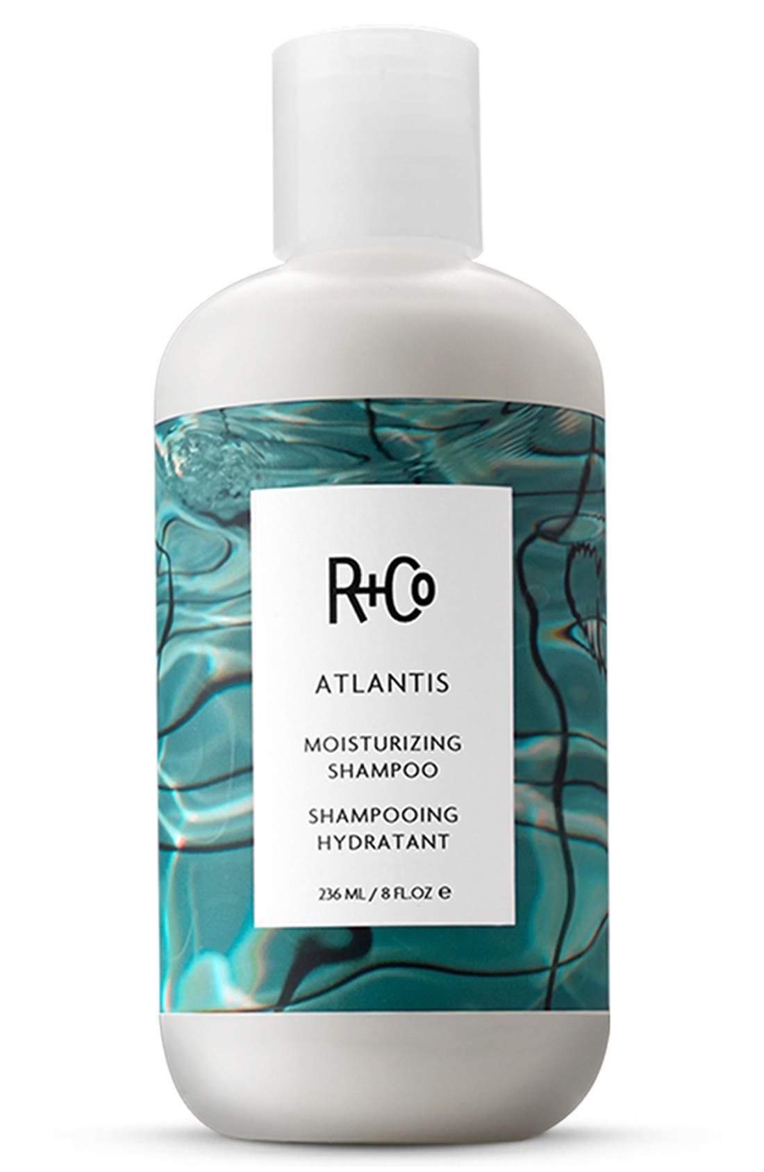 SPACE.NK.apothecary R+Co Atlantis Moisturizing Shampoo,                             Main thumbnail 1, color,                             No Color