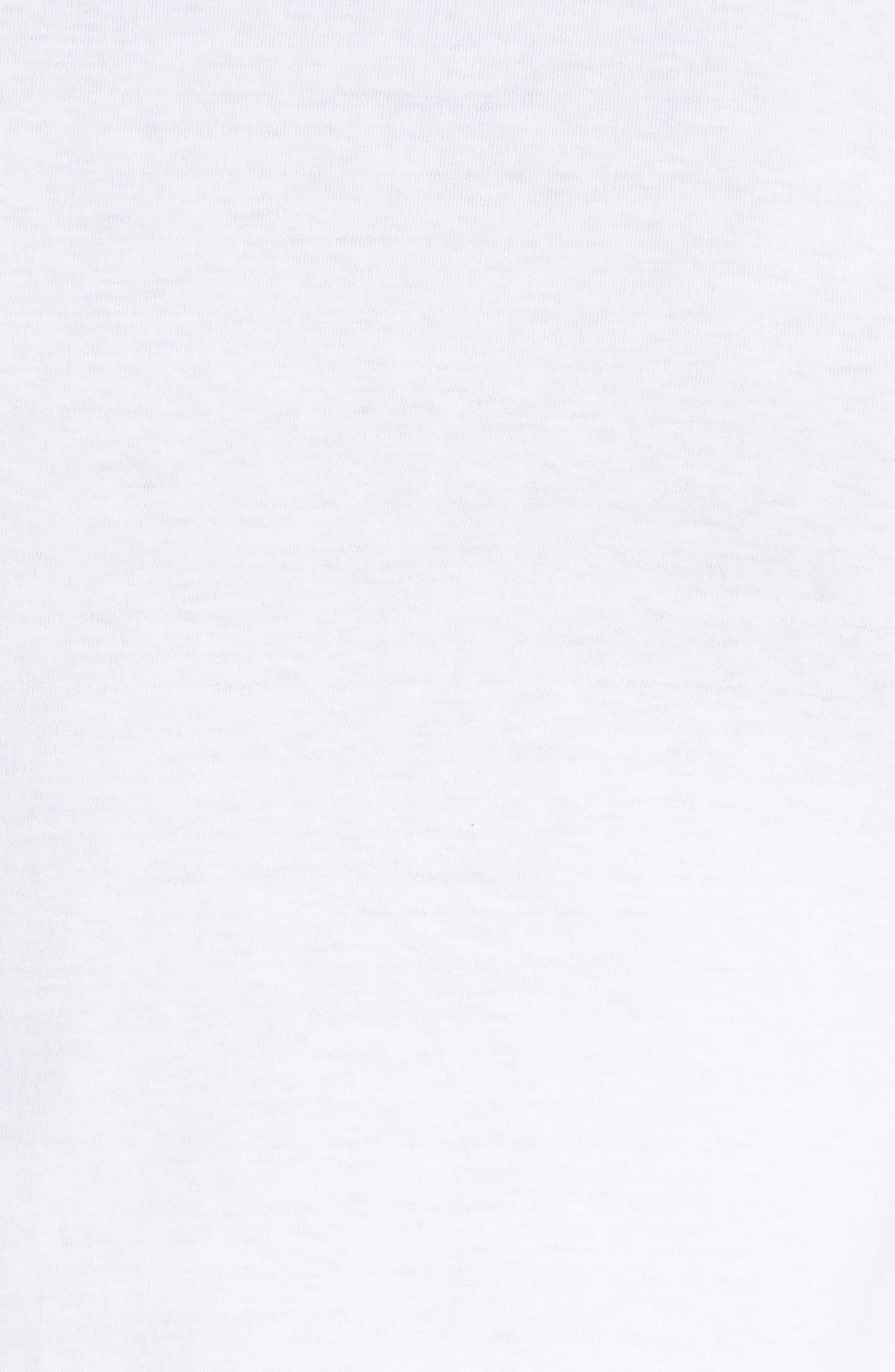 Alternate Image 5  - Comme des Garçons PLAY Graphic T-Shirt with Heart Appliqué