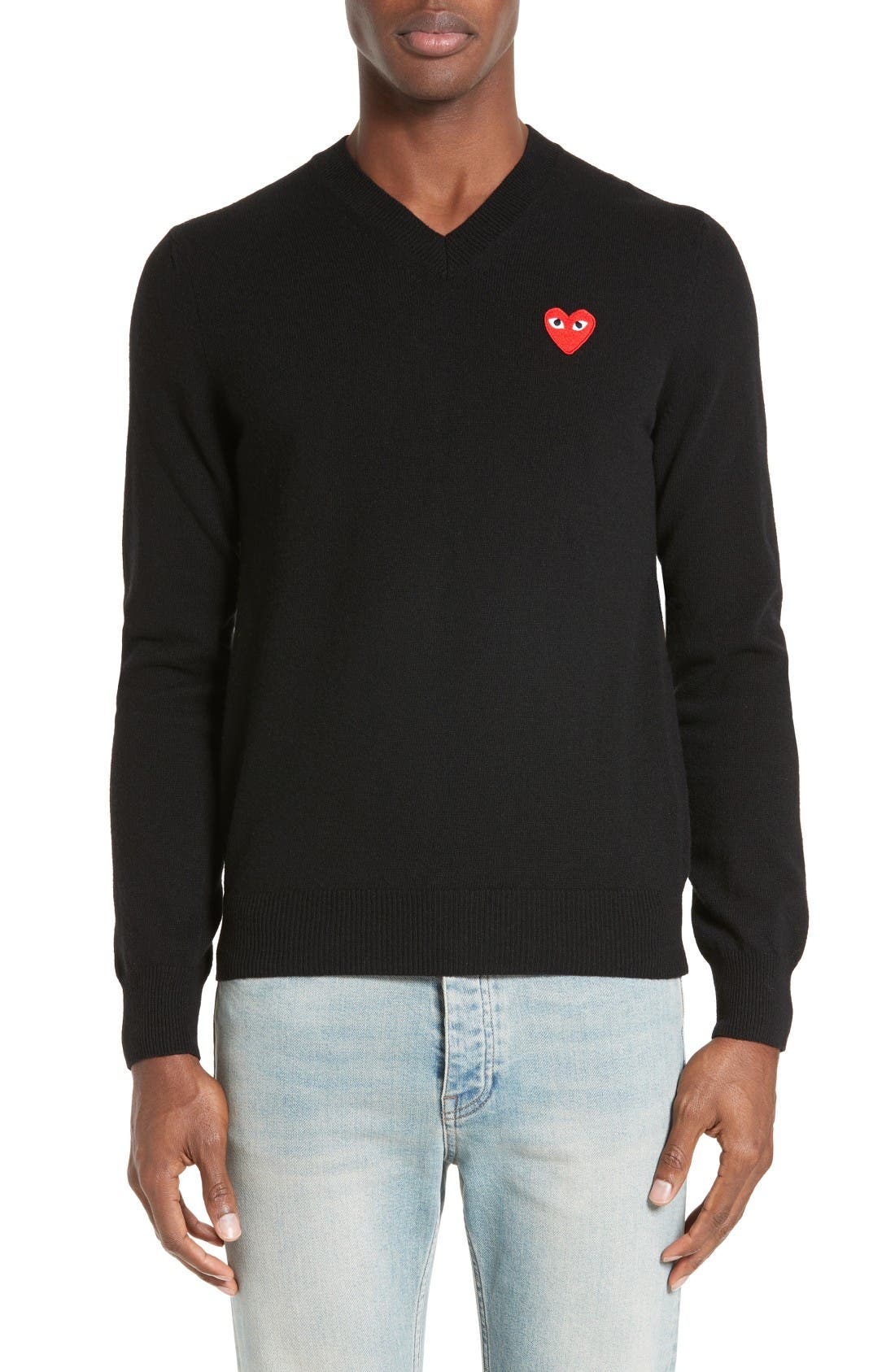 Main Image - Comme des Garçons PLAY Wool Pullover