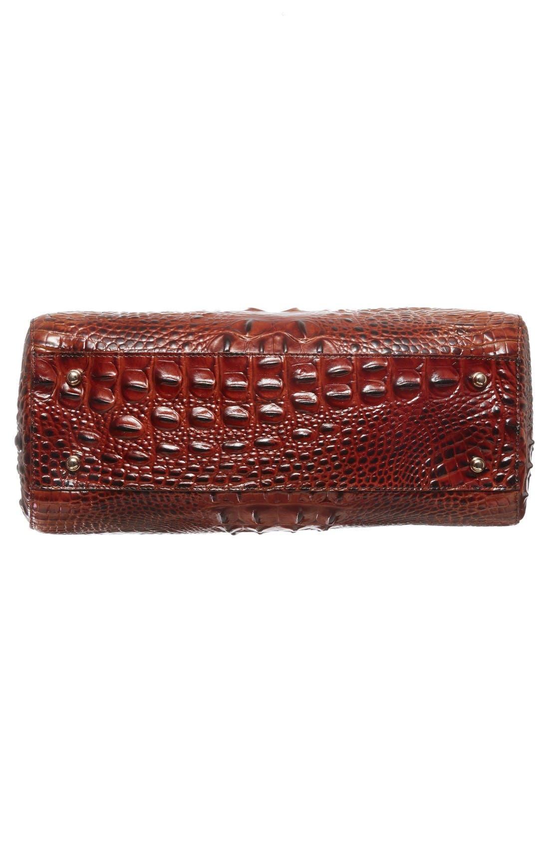 Alternate Image 5  - Brahmin Small Alice Melbourne Leather Satchel