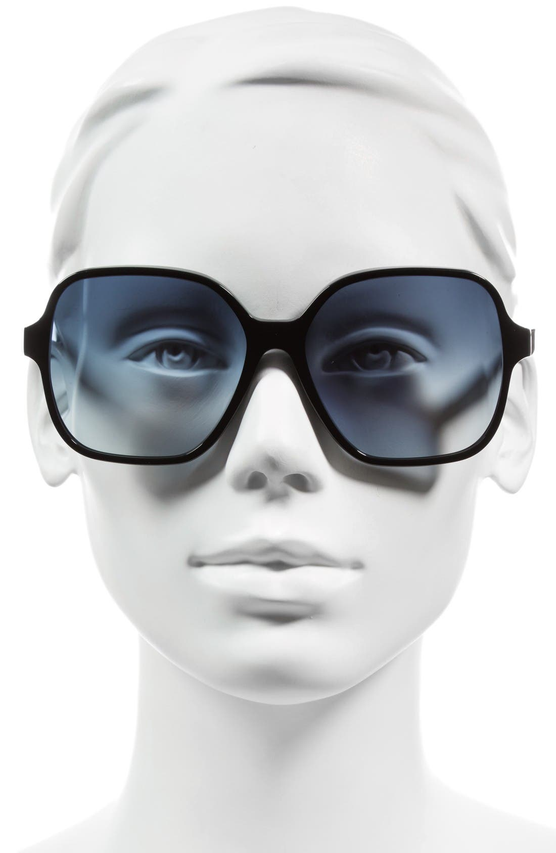 Alternate Image 2  - Victoria Beckham Iconic Square 59mm Sunglasses