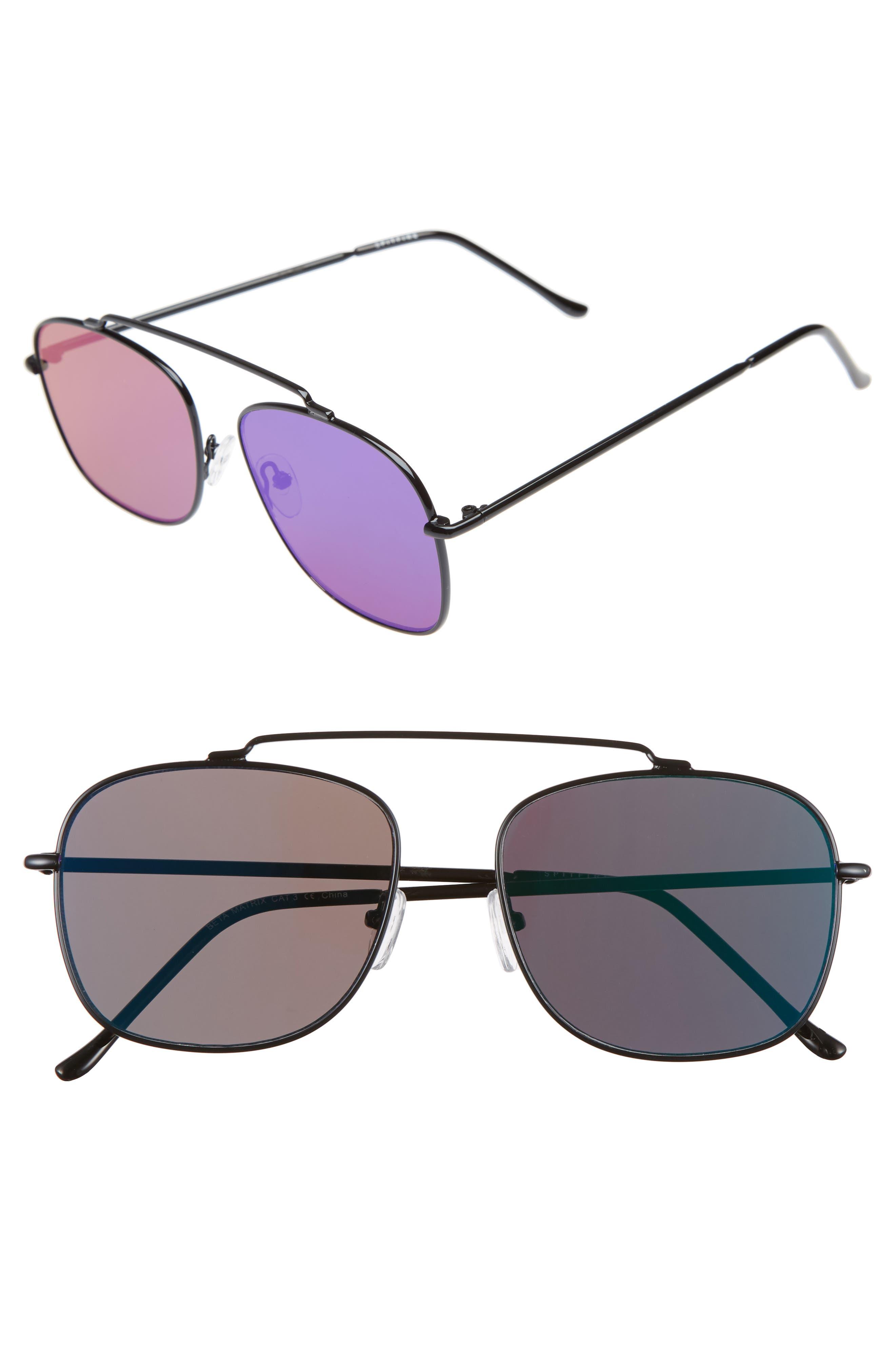 Spitfire Beta Matrix Aviator Sunglasses