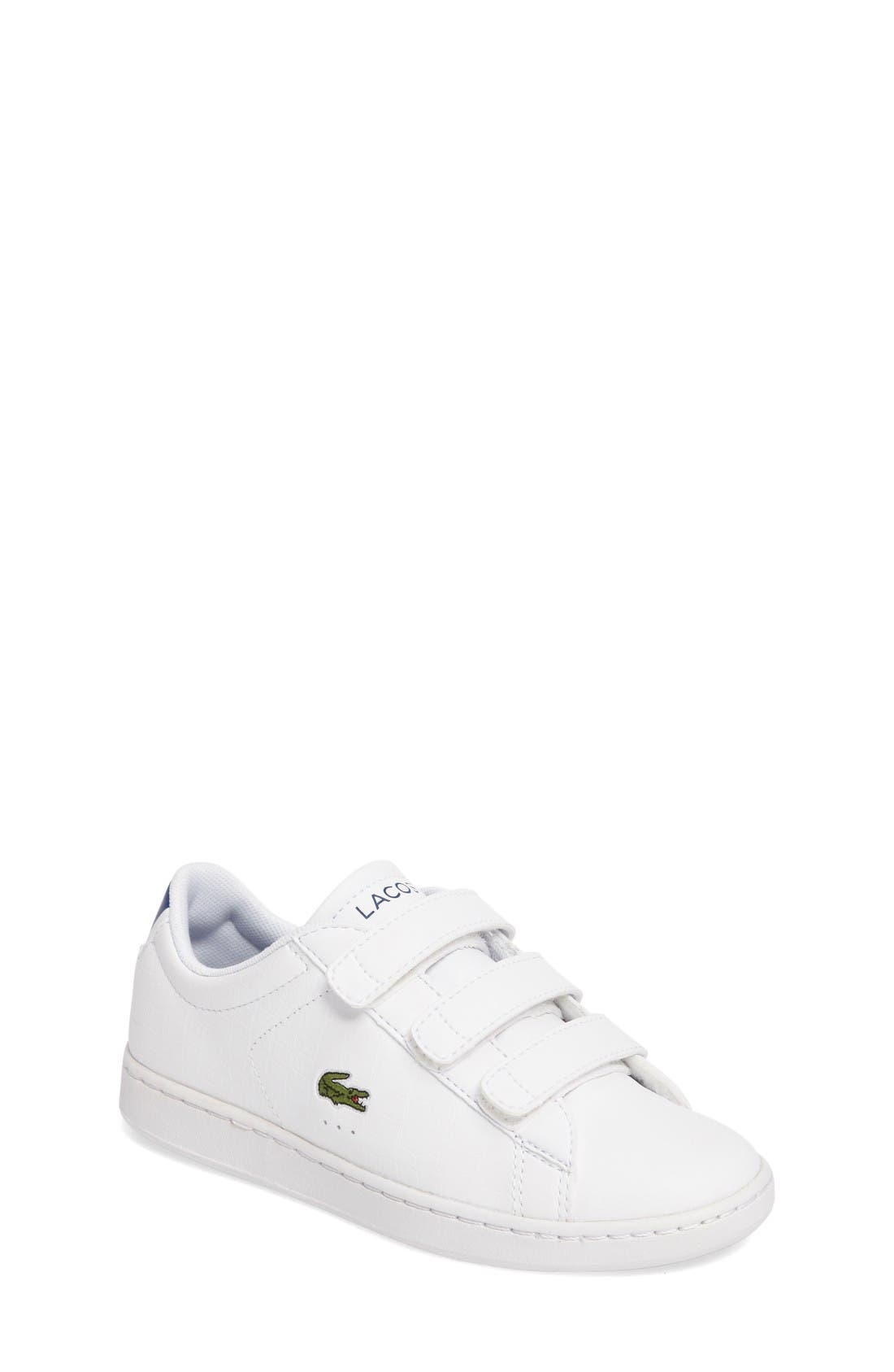 Alternate Image 1 Selected - Lacoste Carnaby EVO Sneaker (Baby, Walker, Toddler & Little Kid)