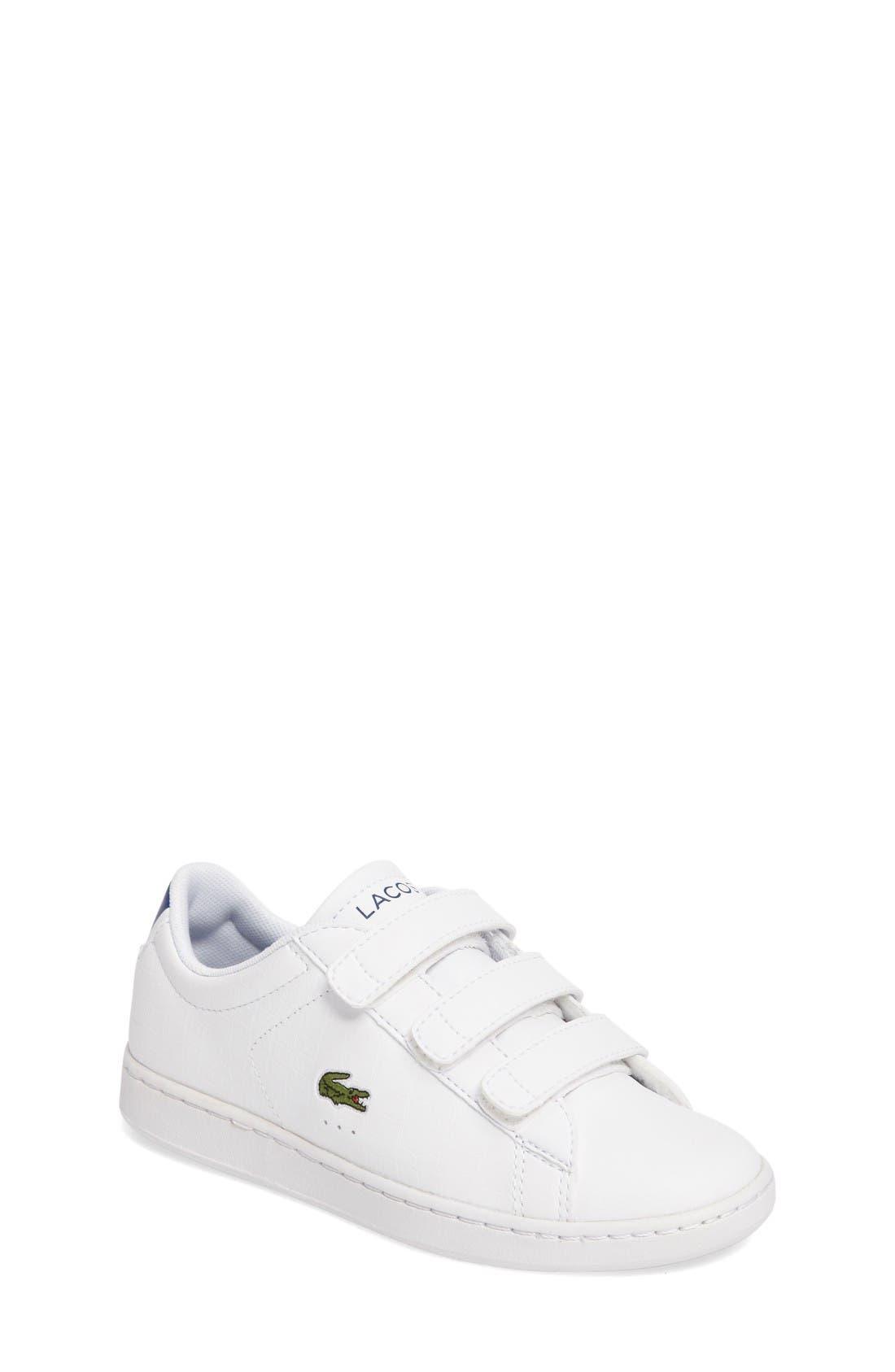 Lacoste Carnaby EVO Sneaker (Baby, Walker, Toddler & Little Kid)