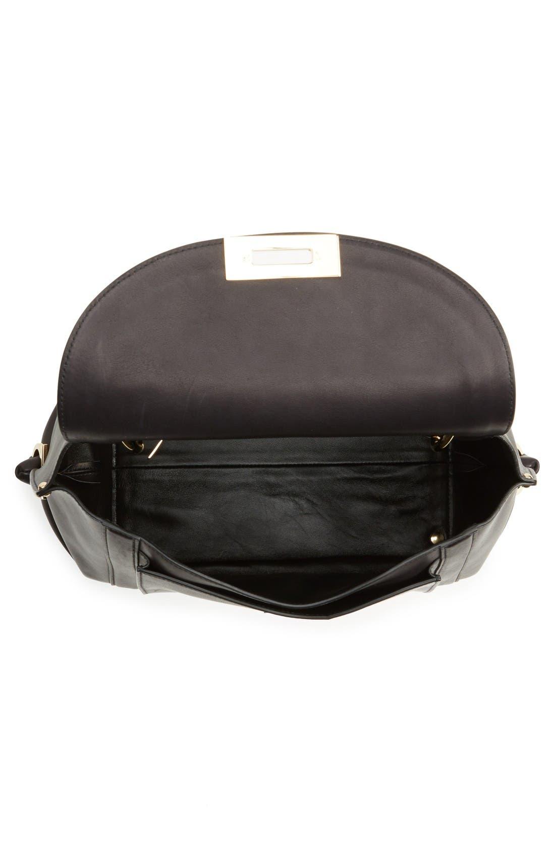 Alternate Image 4  - Salvatore Ferragamo Medium Leather Satchel