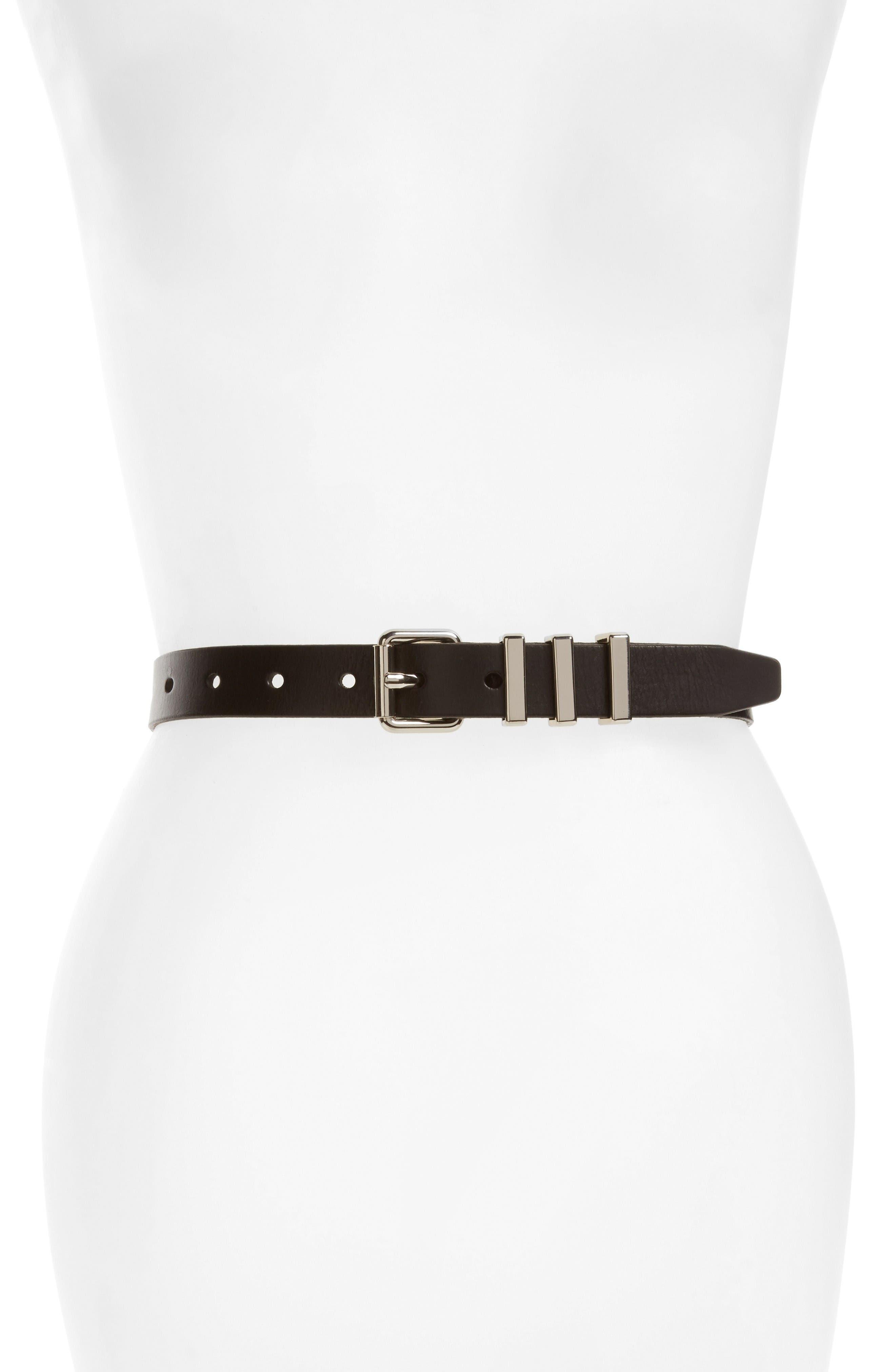 Rebecca Minkoff Suzy Leather Belt