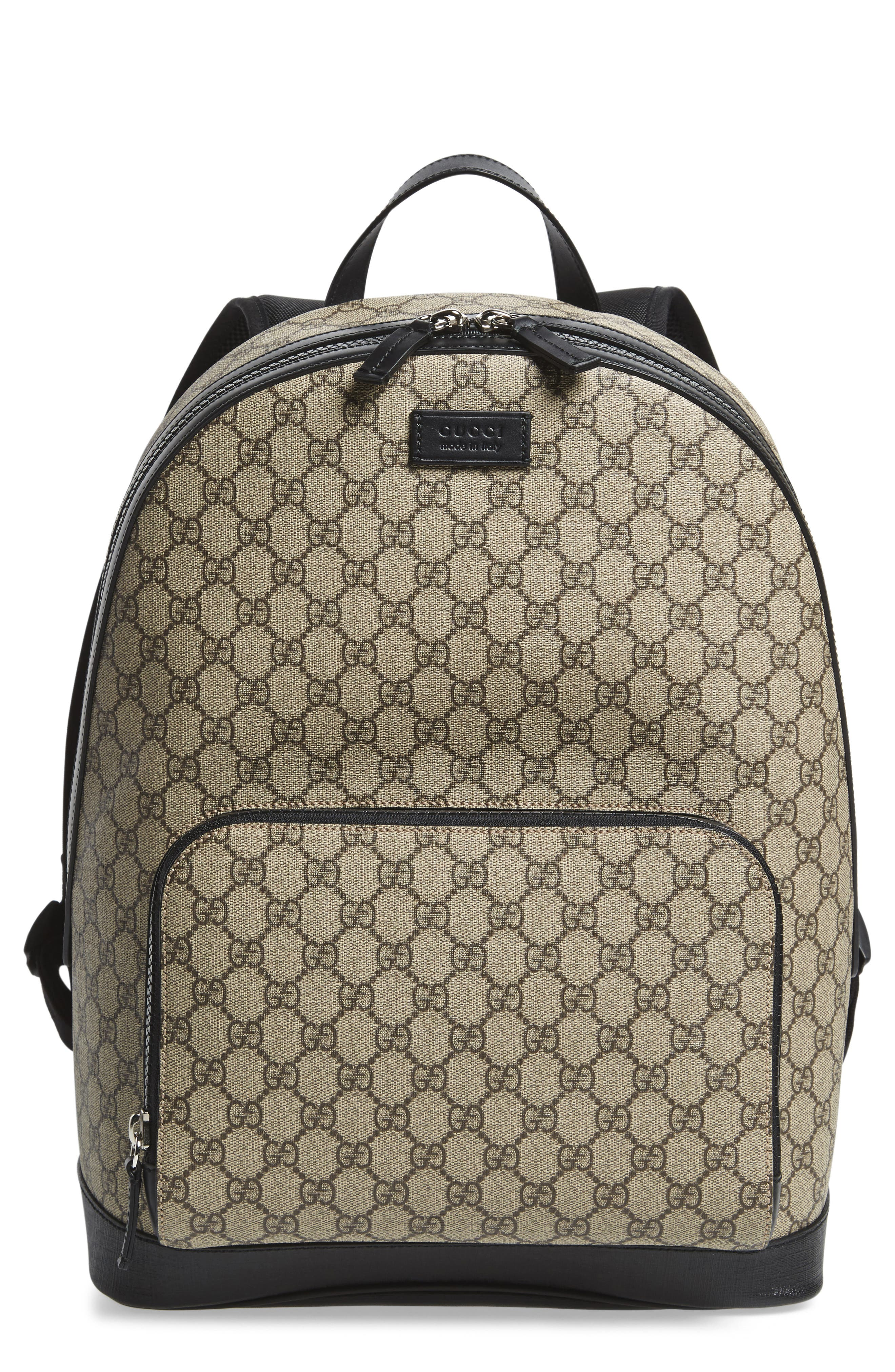 Alternate Image 1 Selected - Gucci Eden Canvas Backpack