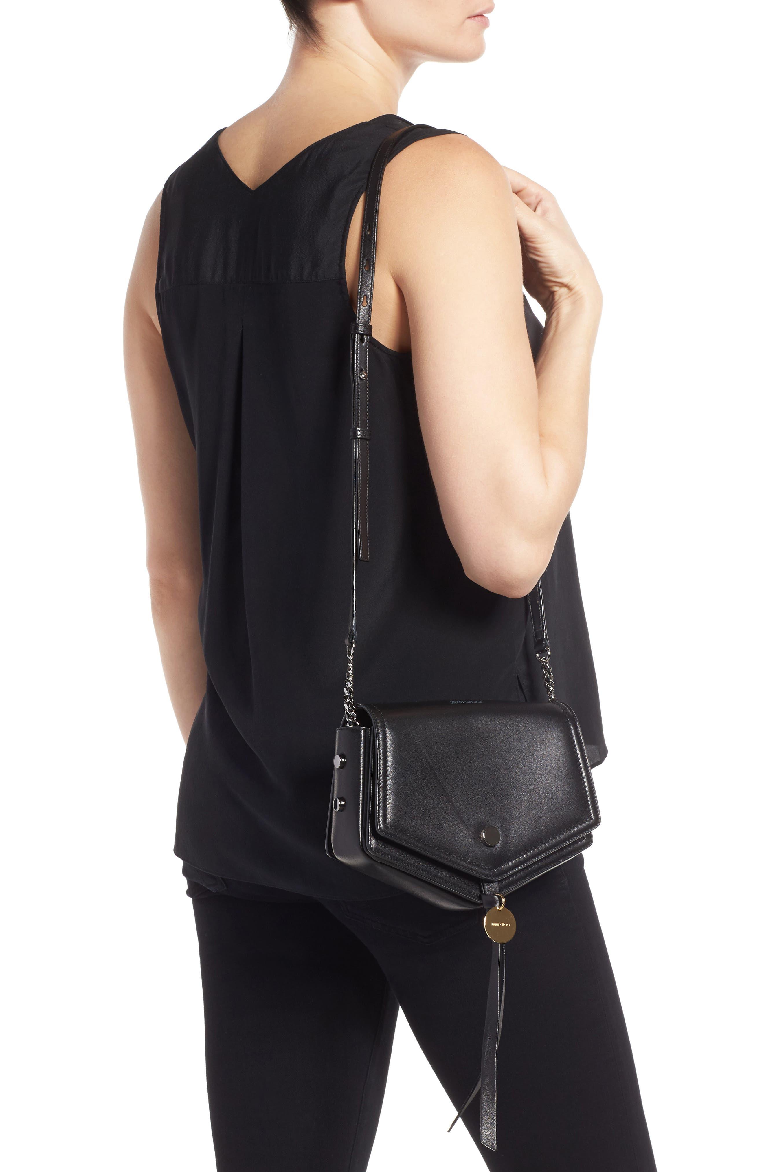 Alternate Image 2  - Jimmy Choo Arrow Leather Shoulder Bag