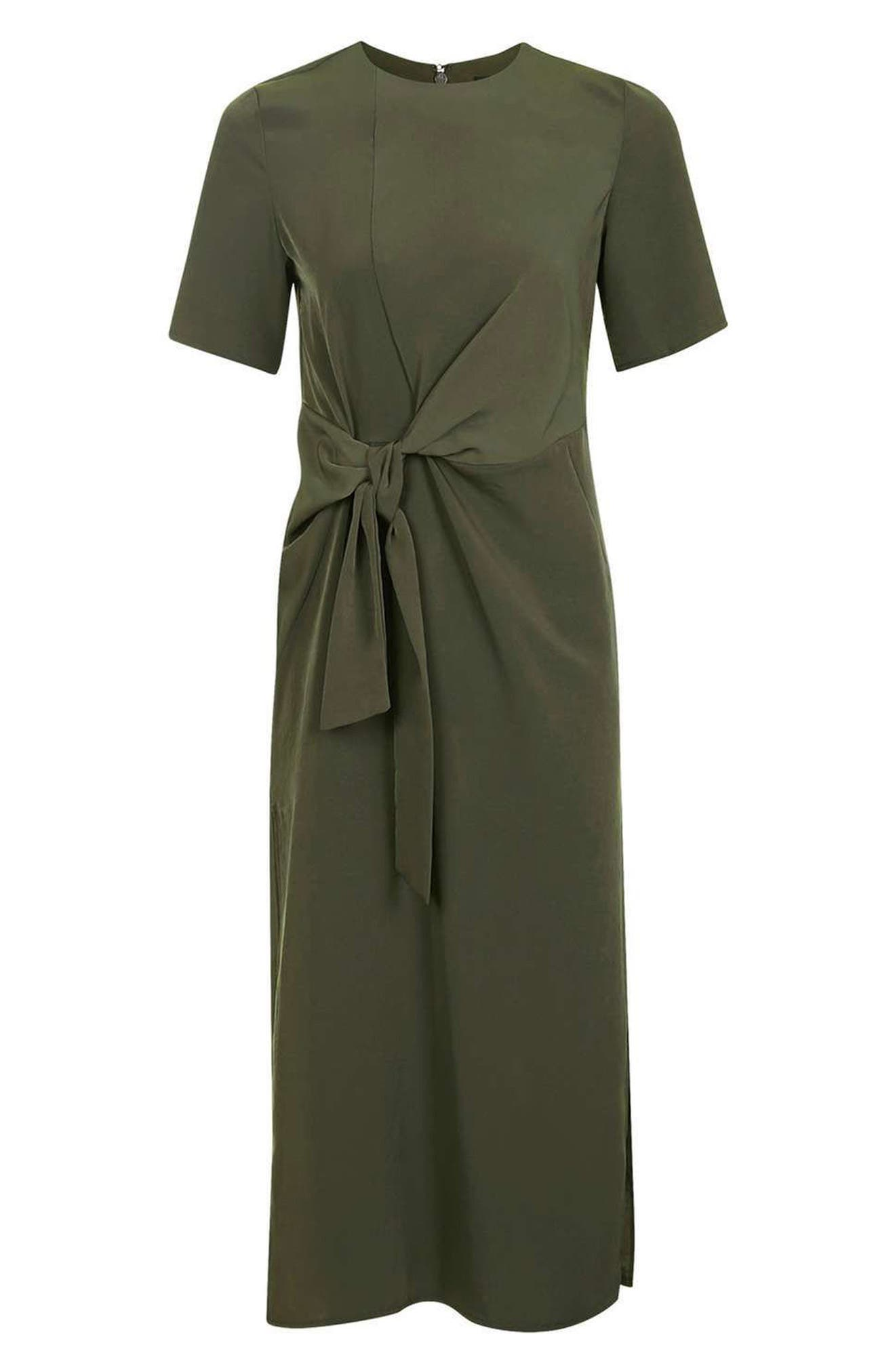 Alternate Image 4  - Topshop Front Knot Dress