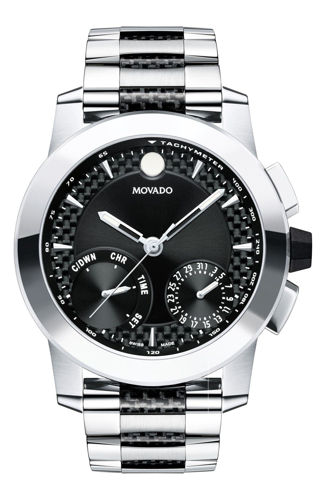 Movado Vizio Chronograph Bracelet Watch, 45mm