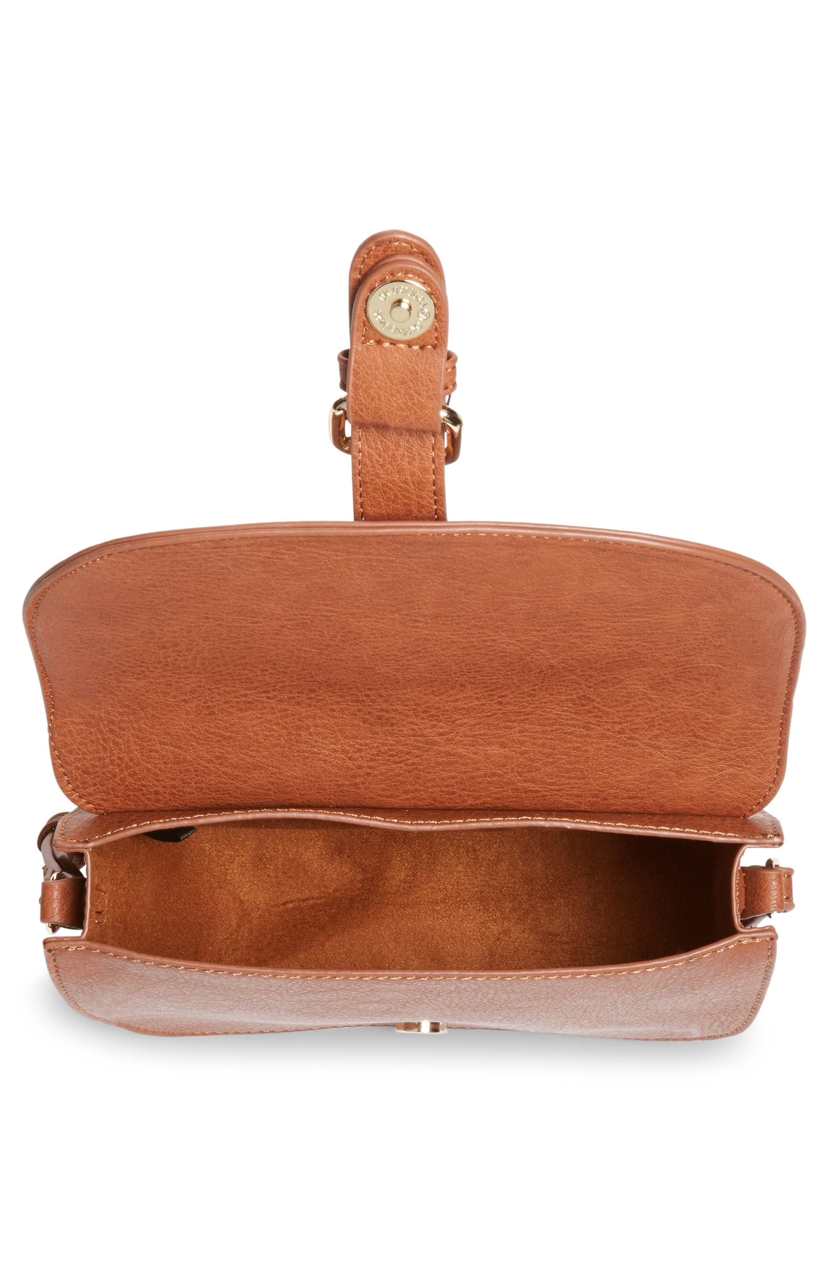 Alternate Image 4  - Emperia Faux Leather Saddle Bag (Special Purchase)