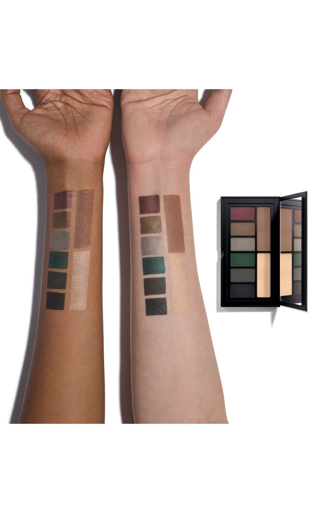 Cover Shot Smoky Eyeshadow Palette,                             Alternate thumbnail 4, color,                             Smoky