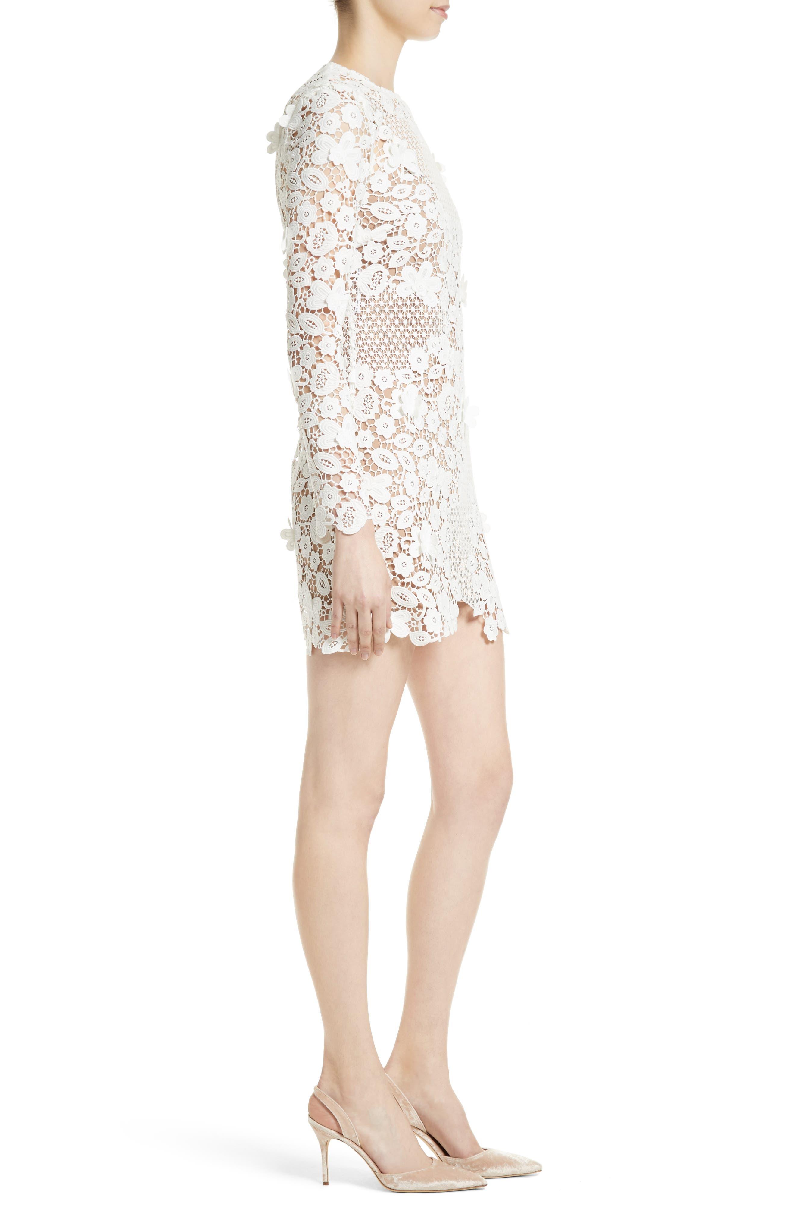 Alternate Image 3  - Self-Portrait Lace Minidress