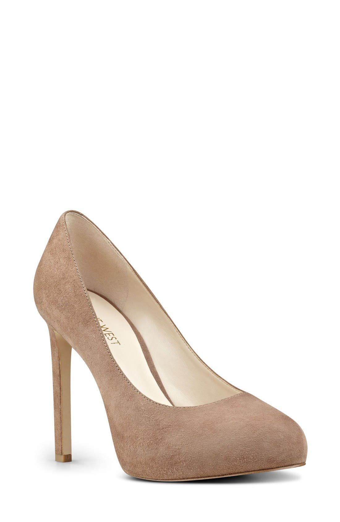 Alternate Image 1 Selected - Nine West Tyler Concealed Platform Pump (Women)
