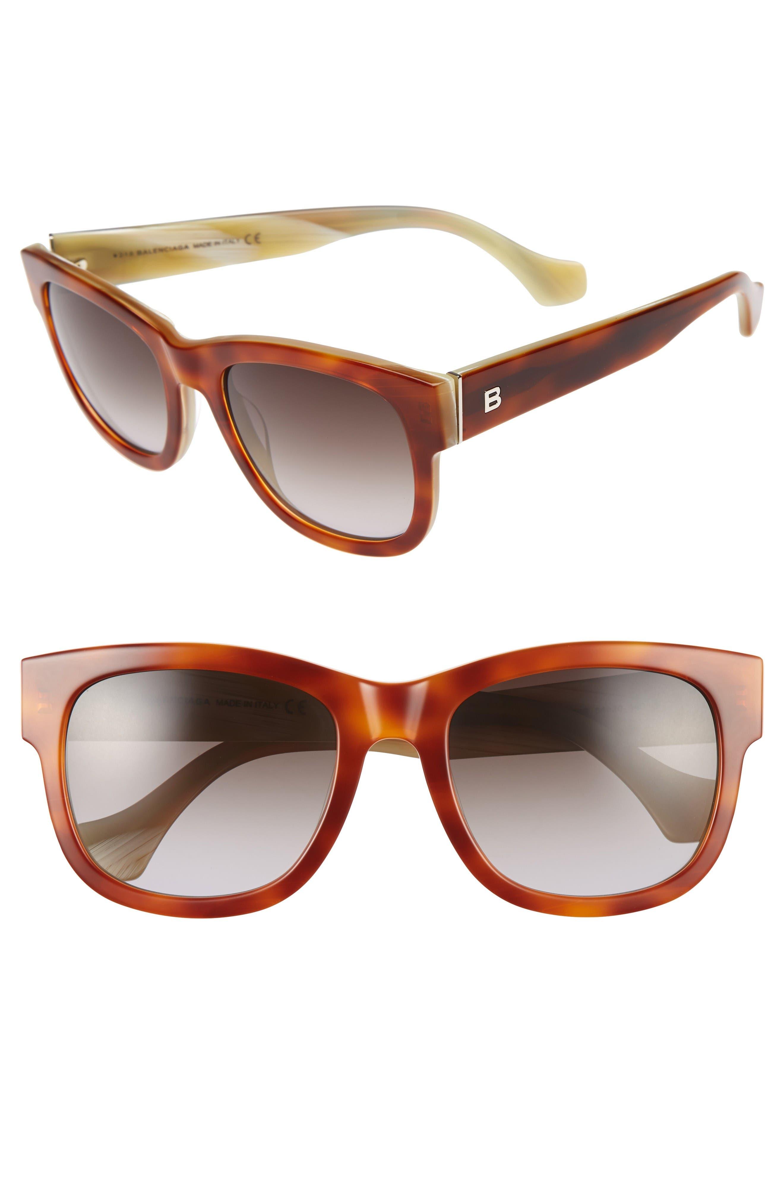 Balenciaga 54mm Retro Sunglasses
