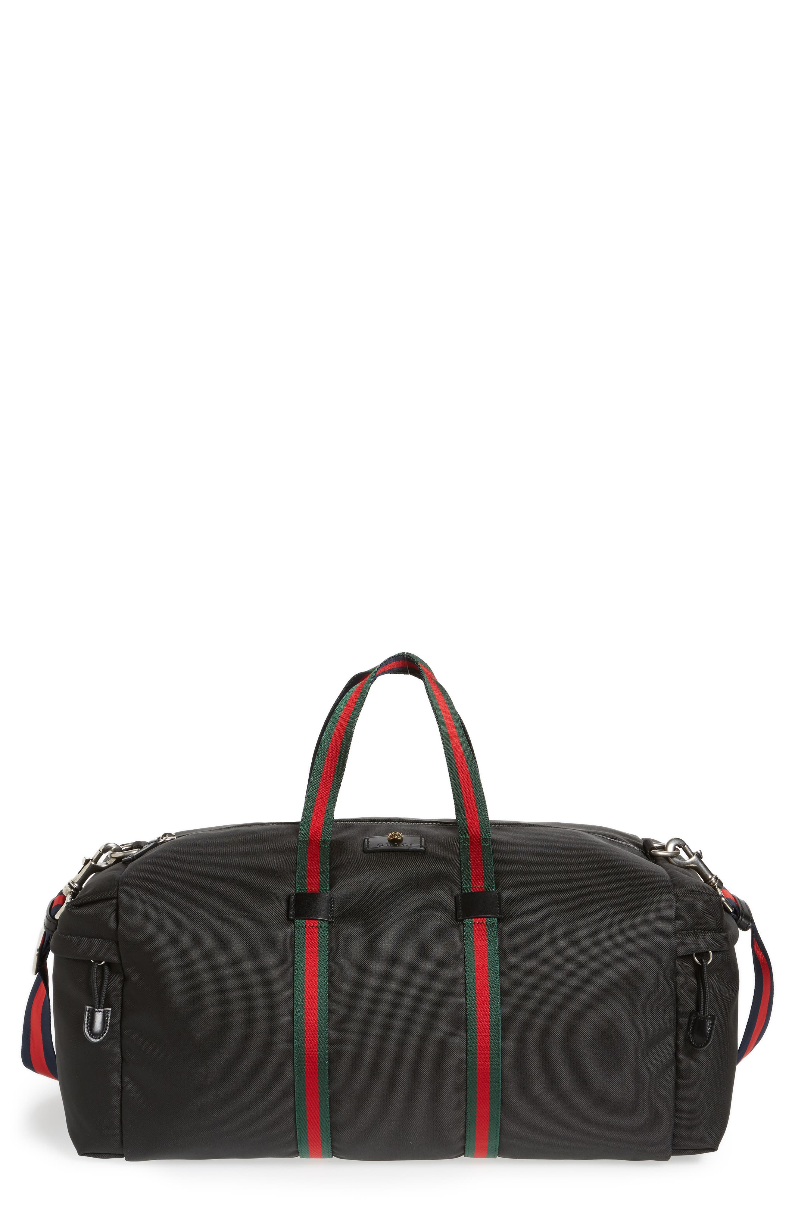 Alternate Image 1 Selected - Gucci Techpack Canvas Duffle Bag