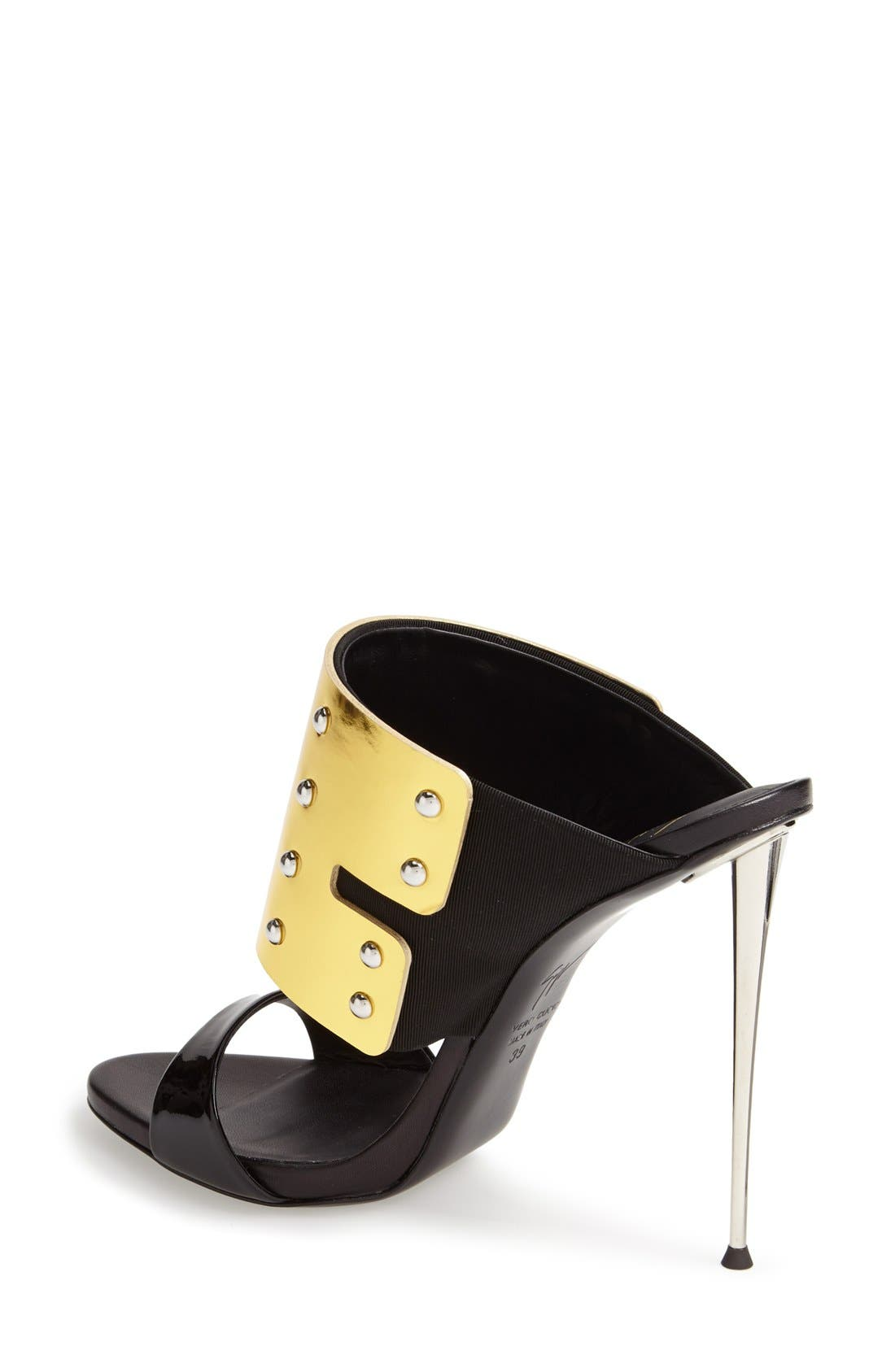 Alternate Image 2  - Giuseppe Zanotti 'Coline' Metallic Cuff Sandal (Women)