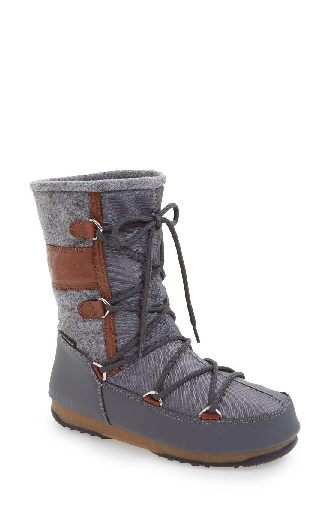 Alternate Image 1 Selected - Tecnica® Vienna Waterproof Moon Boot® (Women)