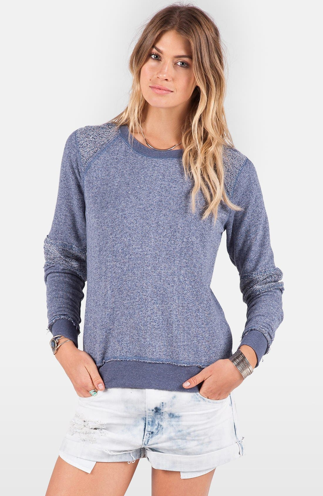 Main Image - Volcom 'Lived In' French Terry Sweatshirt