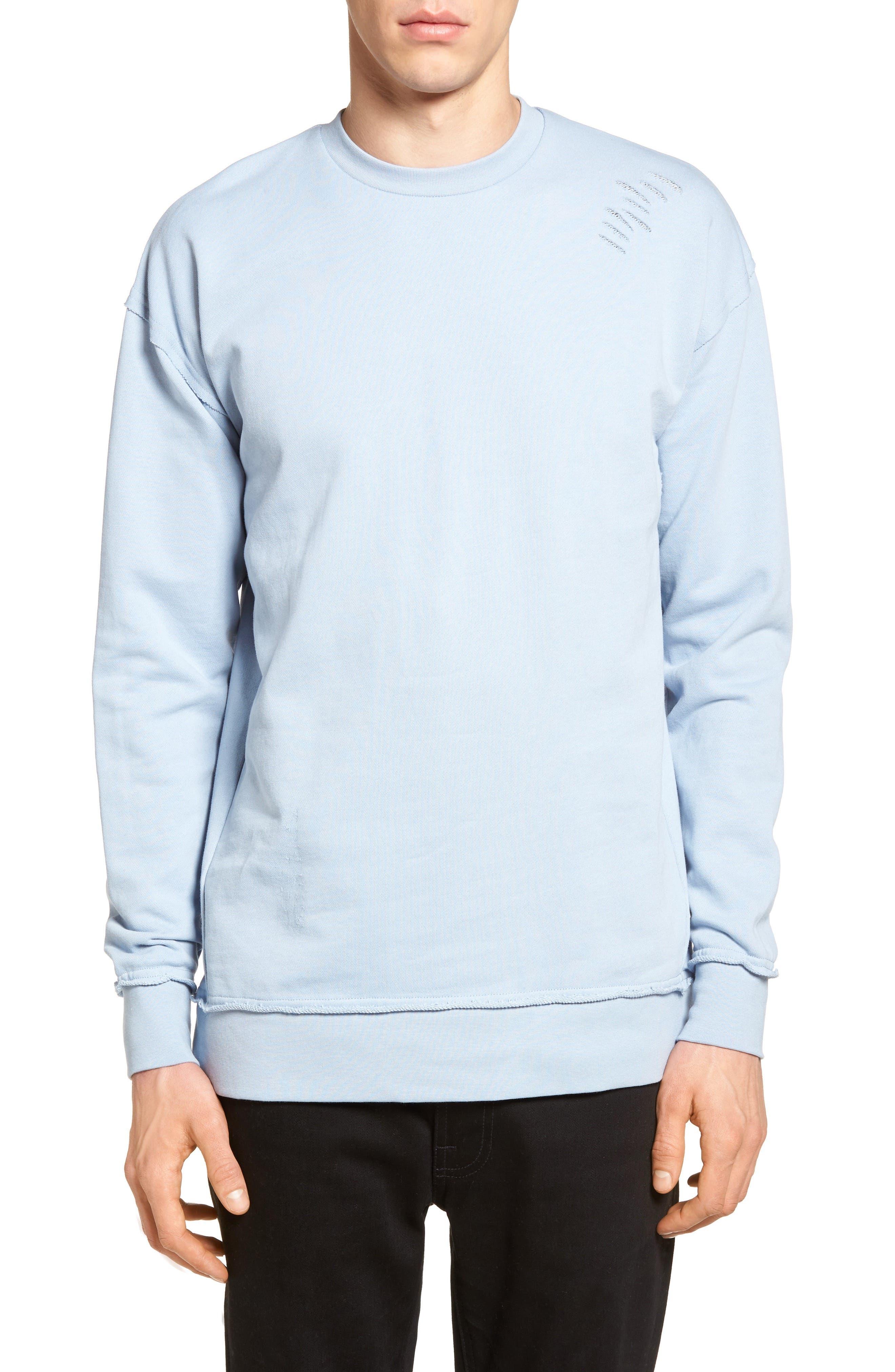 ZANEROBE Rugger Oversized Raw Edge Sweatshirt