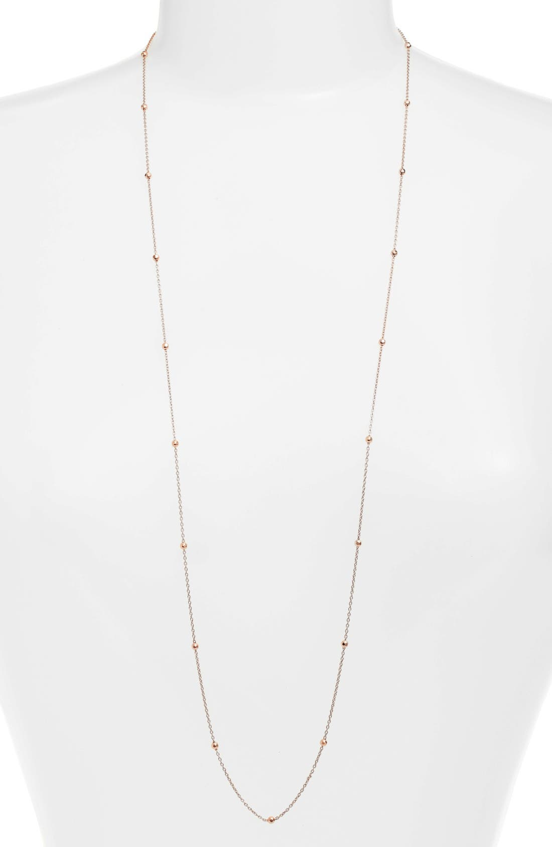 Argento Vivo Long Station Necklace