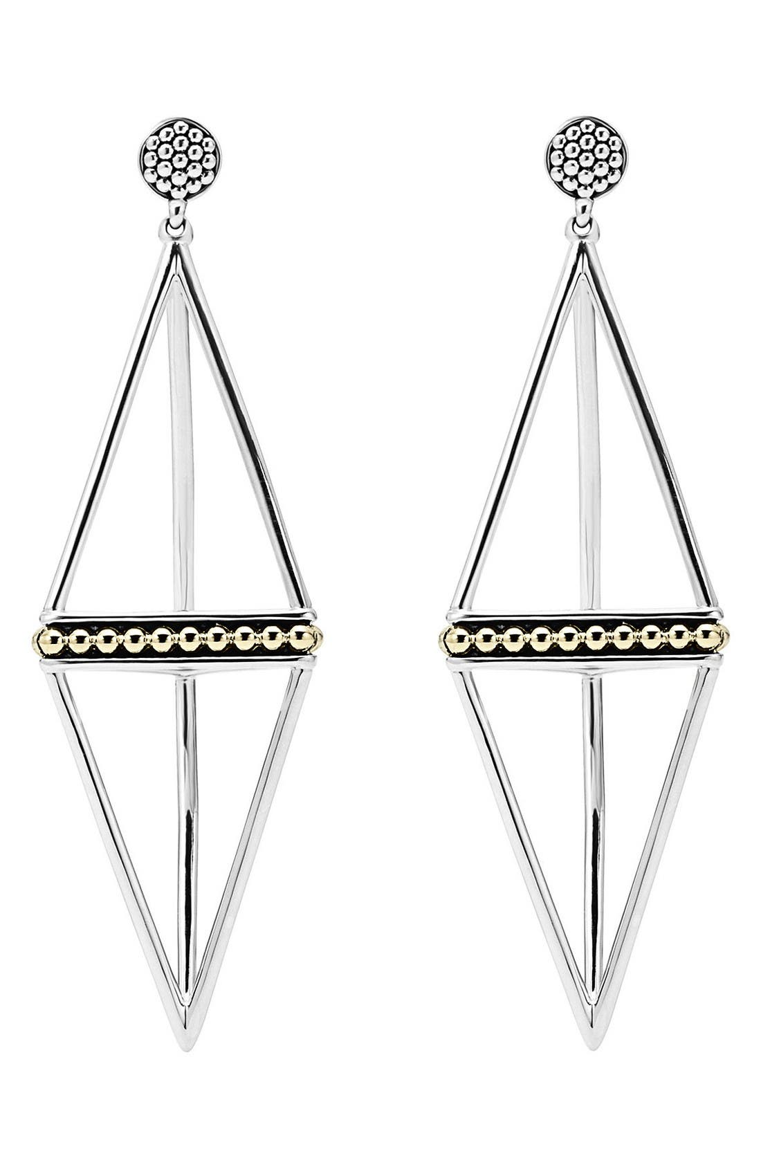 Alternate Image 2  - LAGOS 'KSL' Pyramid Drop Earrings