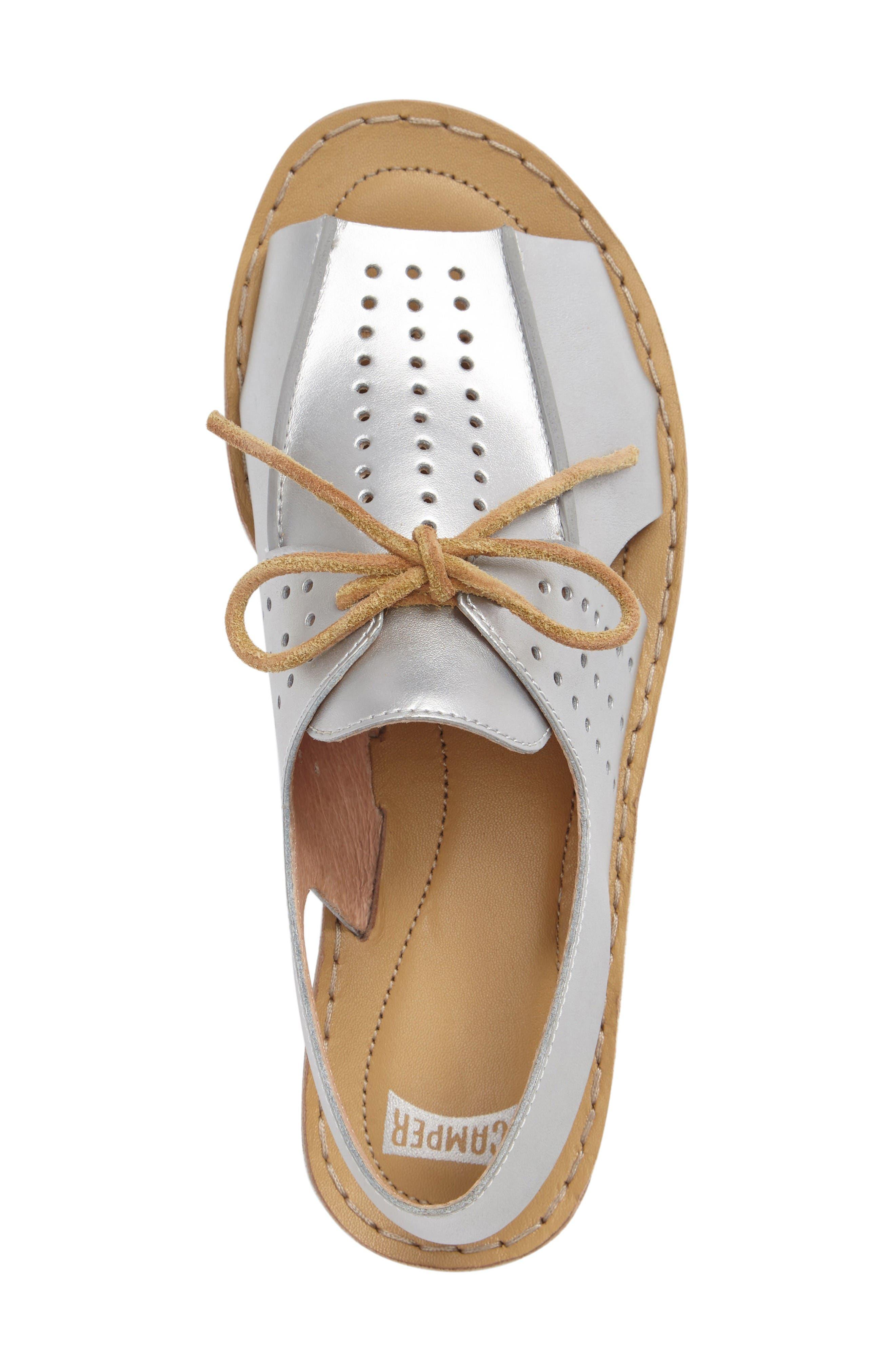 Alternate Image 3  - Camper Lace-Up Sandal (Women)