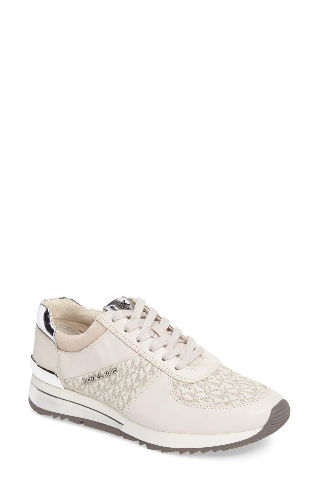 MICHAEL Michael Kors Allie Metallic Sneaker (Women)