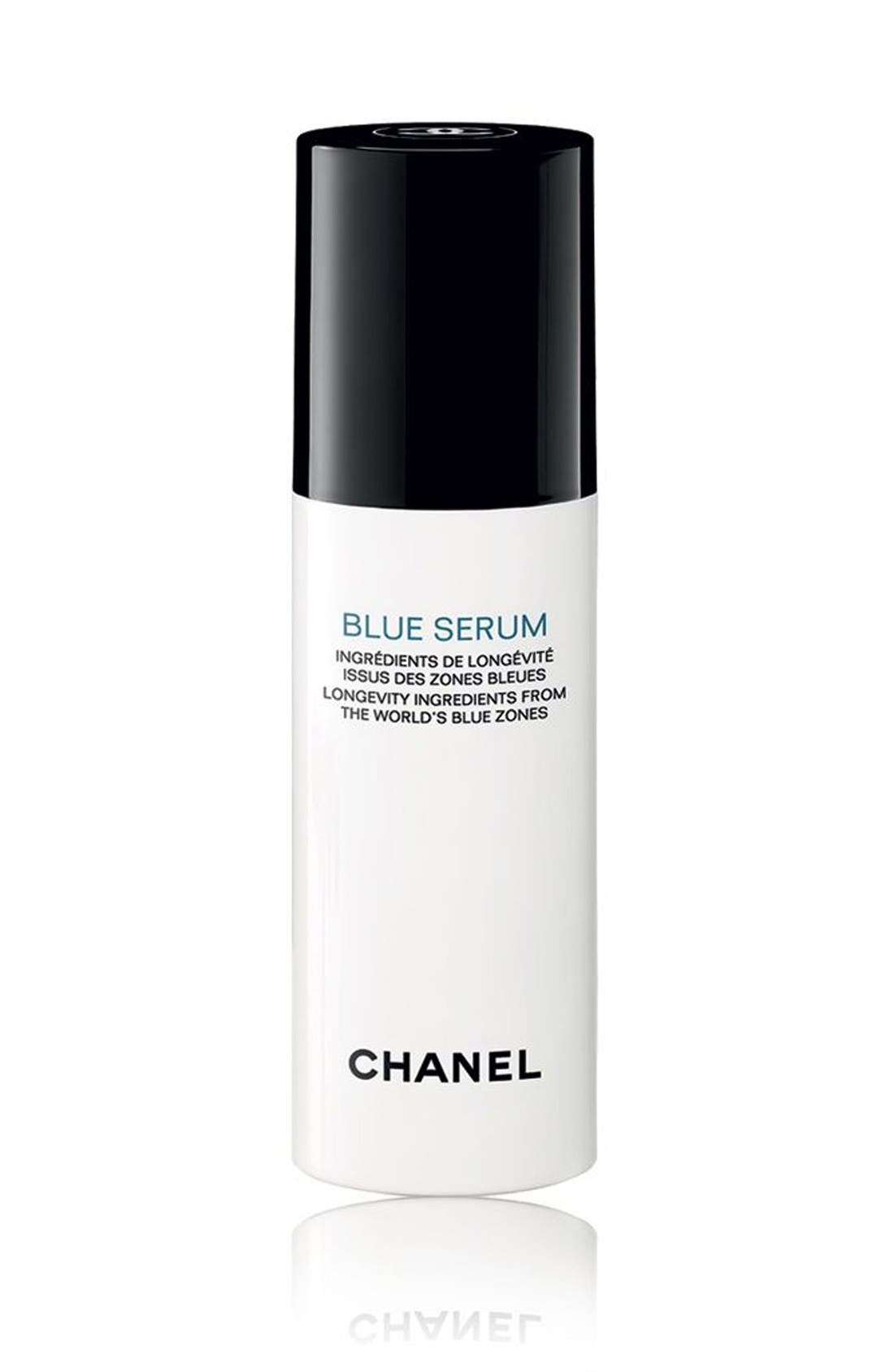 CHANEL BLUE SERUM  LONGEVITY INGREDIENTS FROM THE WORLD'S BLUE ZONES