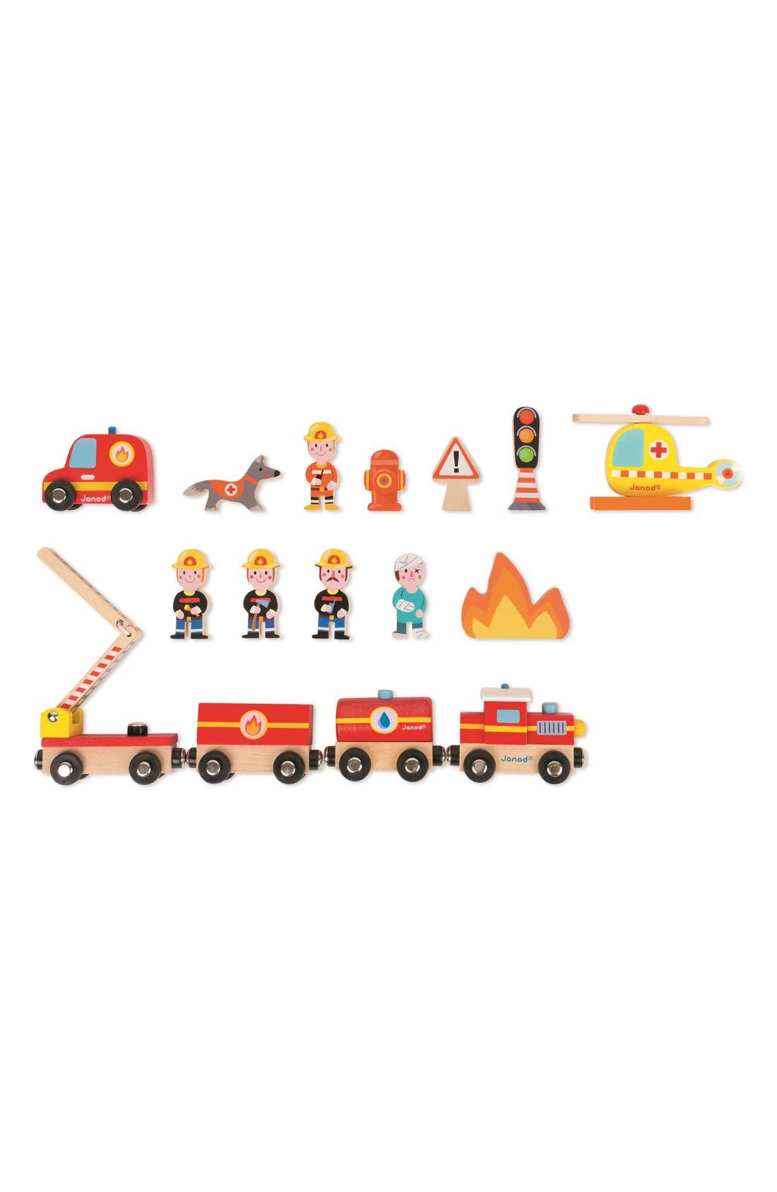 Story Express Firefighter Play Set,                             Alternate thumbnail 4, color,                             Multi