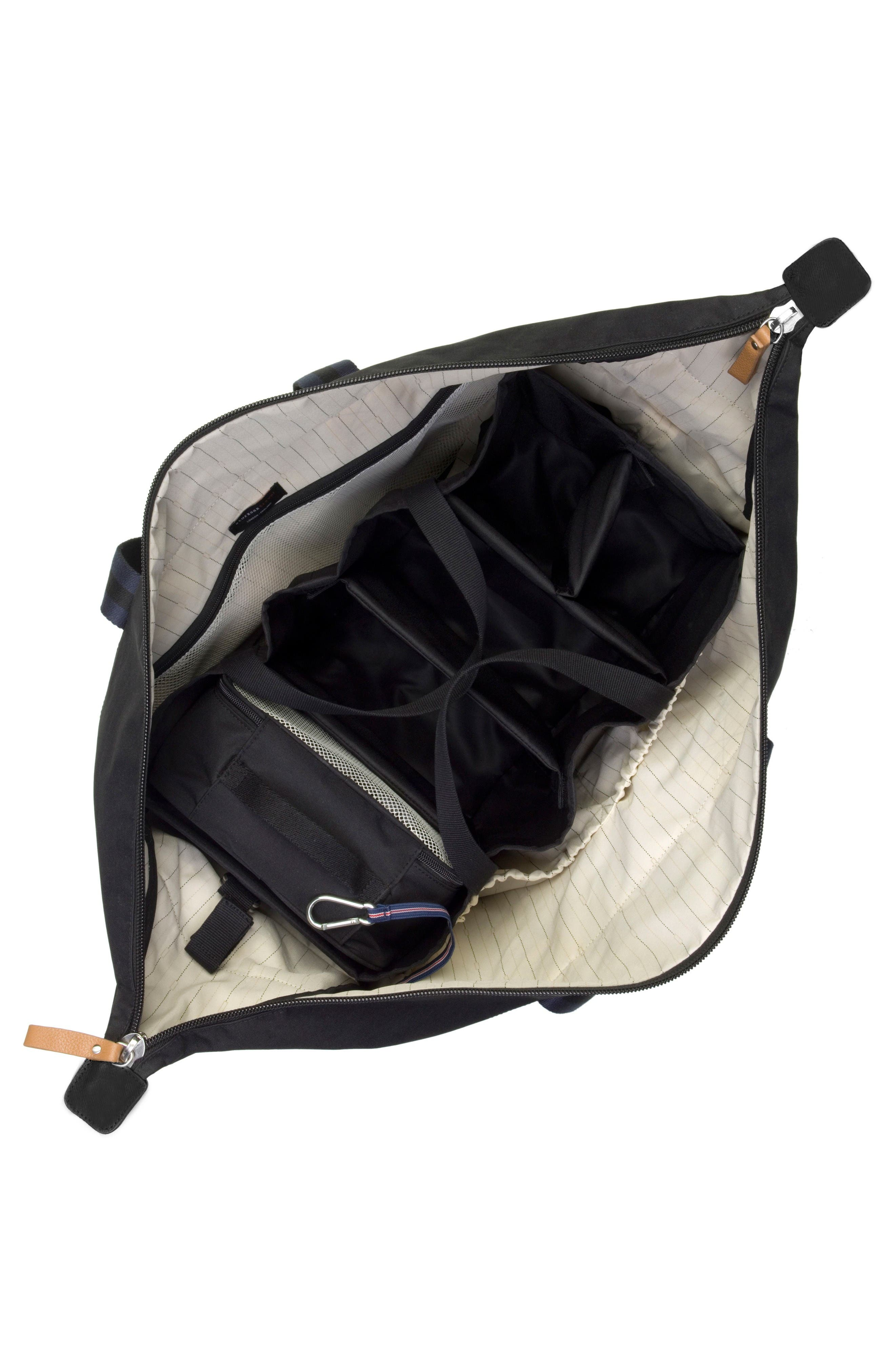 Travel Duffel with Hanging Organizer,                             Alternate thumbnail 2, color,                             Black