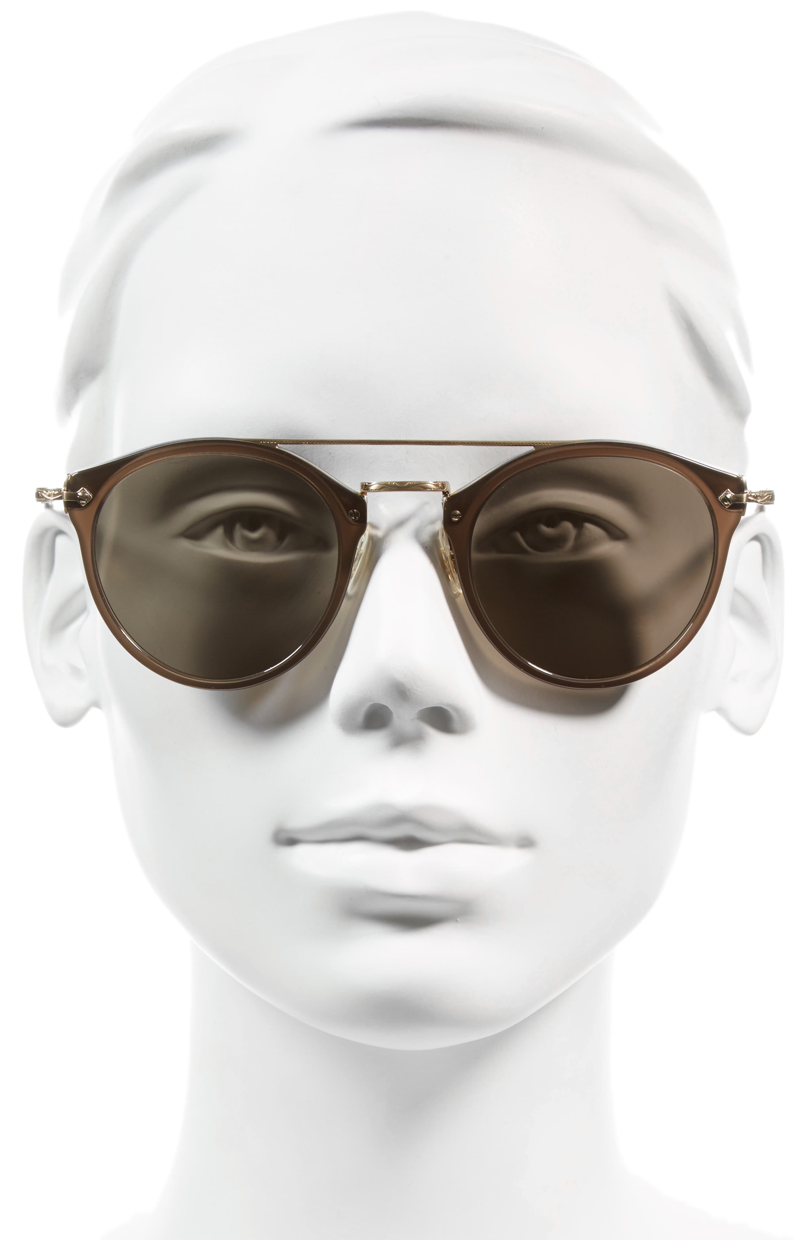 Alternate Image 2  - Oliver Peoples Remick 50mm Brow Bar Sunglasses