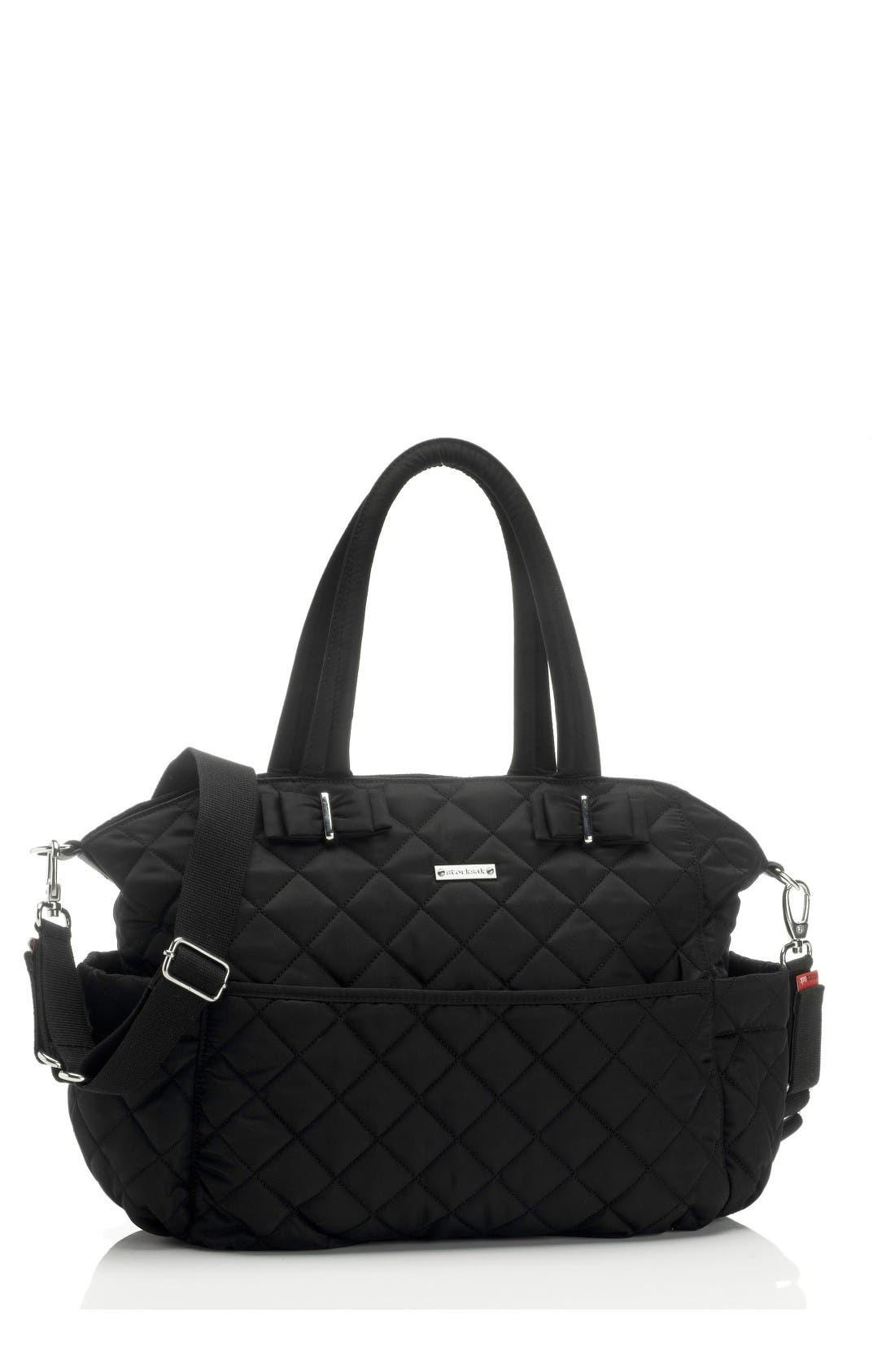 Bobby Diaper Bag,                         Main,                         color, Black